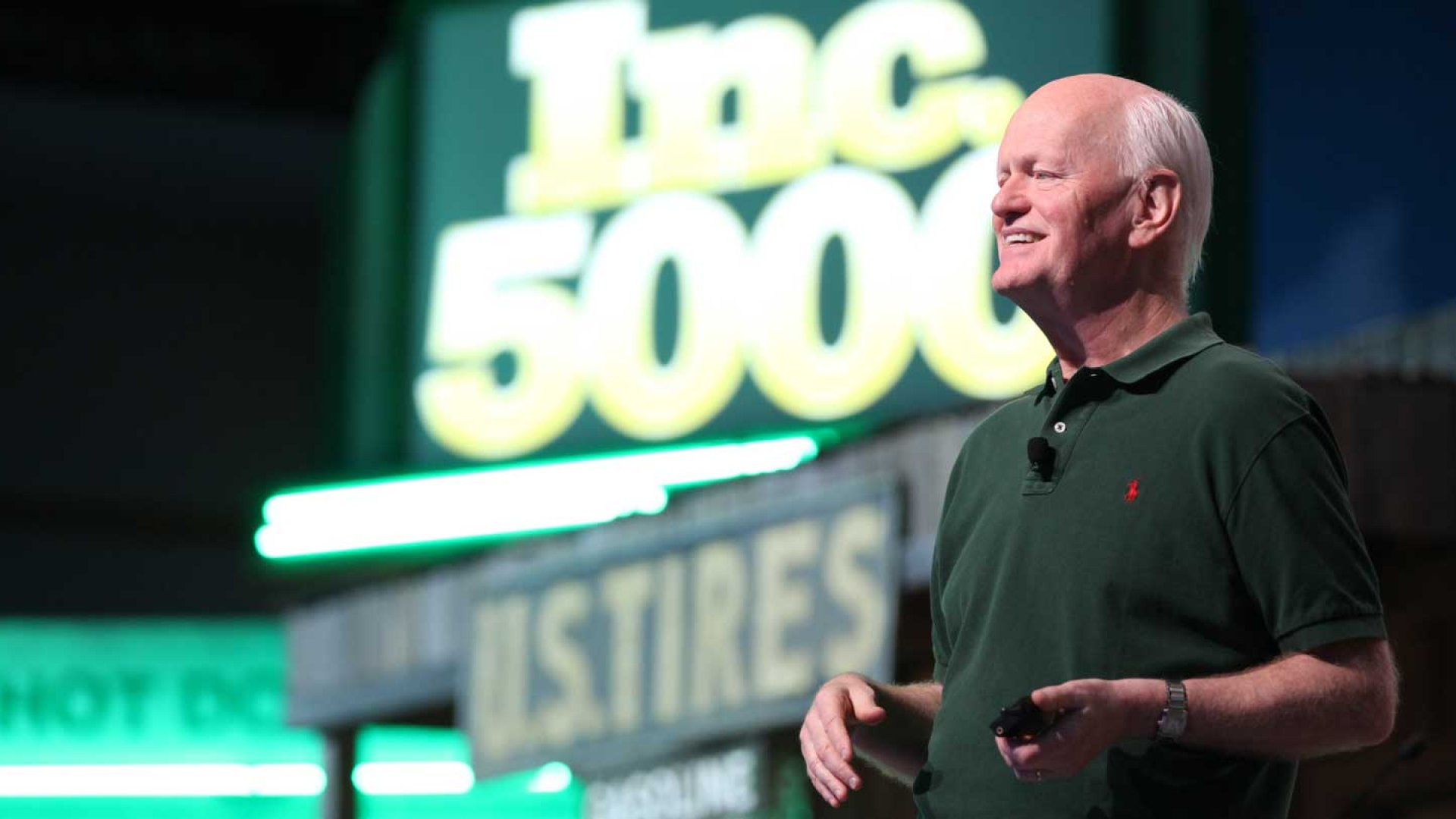 Marshall Goldsmith, executive coach and author, speaks at the 2014 Inc. 5000 conference on October 17th.