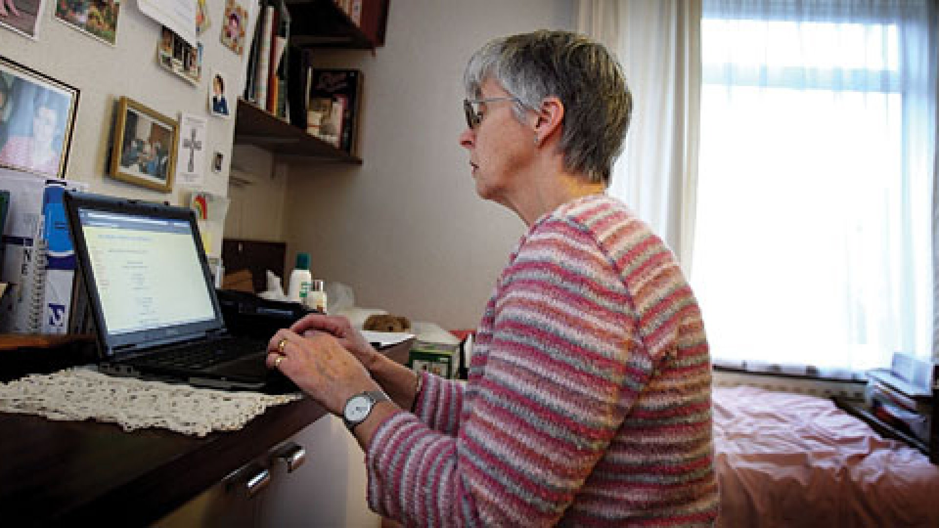 Social media is still dominated by younger users, but those over 50 are rapidly joining in.