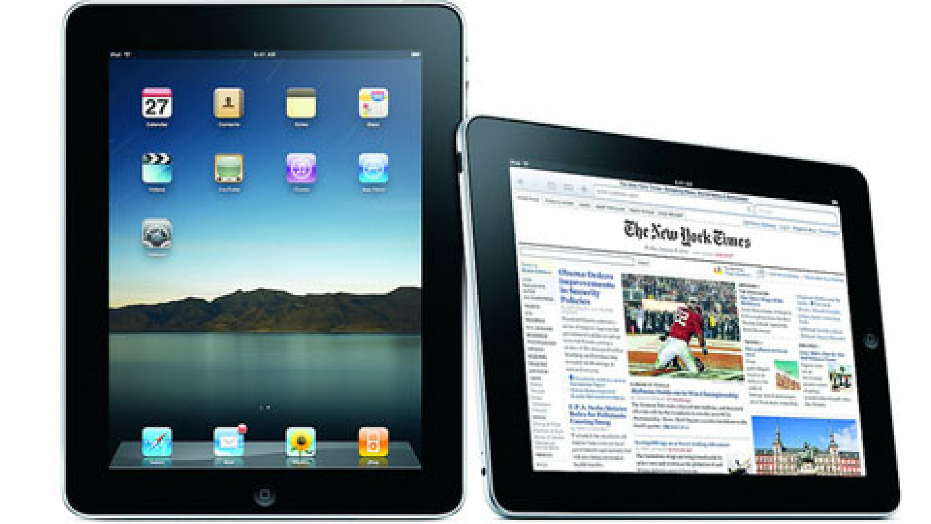 The latest iPad rumor? Apple is going to release a 7-inch version of the wildly popular 10-inch tablet (pictured above).