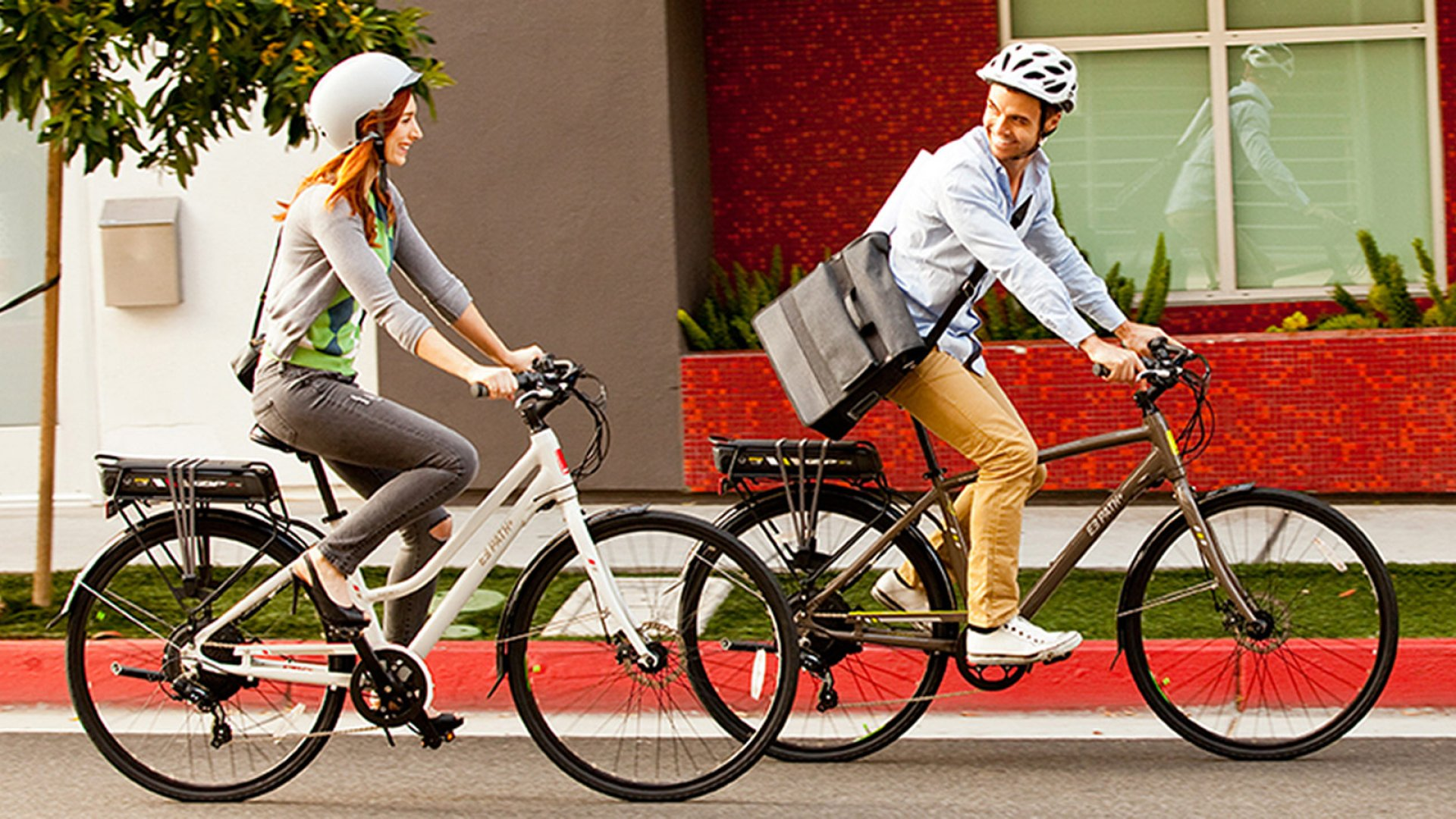 The iZIP E3 Path Plus is an electric bike with a range of 30-50 miles. It shows how tech can enable new paths.