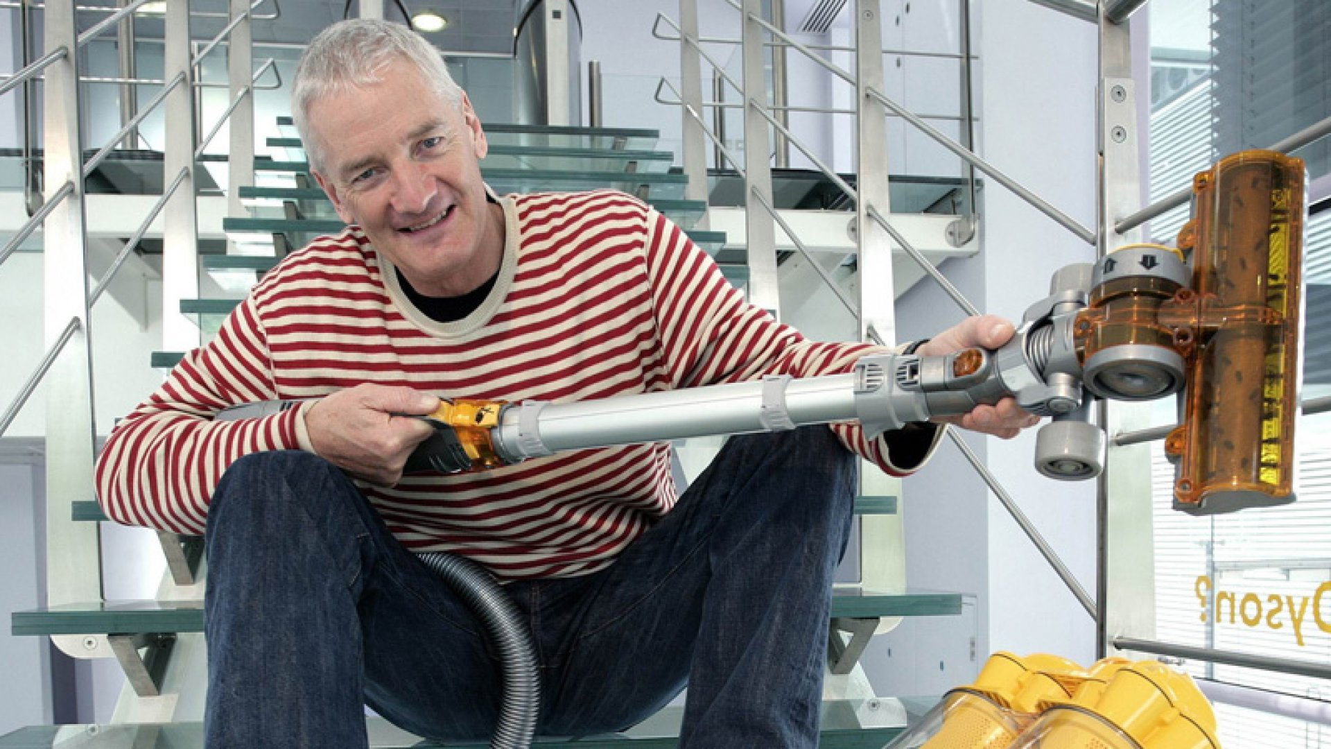 Try, Try Again: Lessons From James Dyson's Invention of the Vacuum