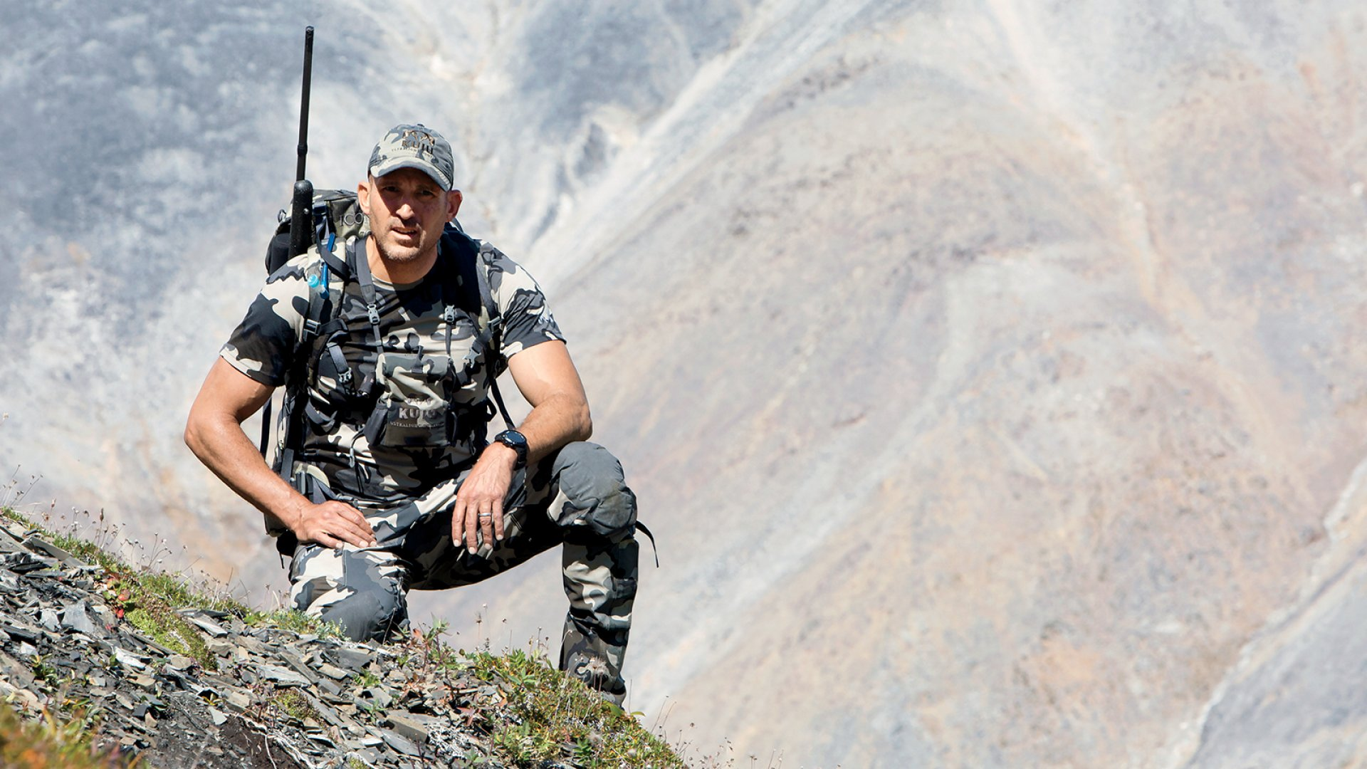 A longtime hunter, Jason Hairston (wearing Kuiu gear) named his new company after an Alaskan island that attracts expedition-style trackers.