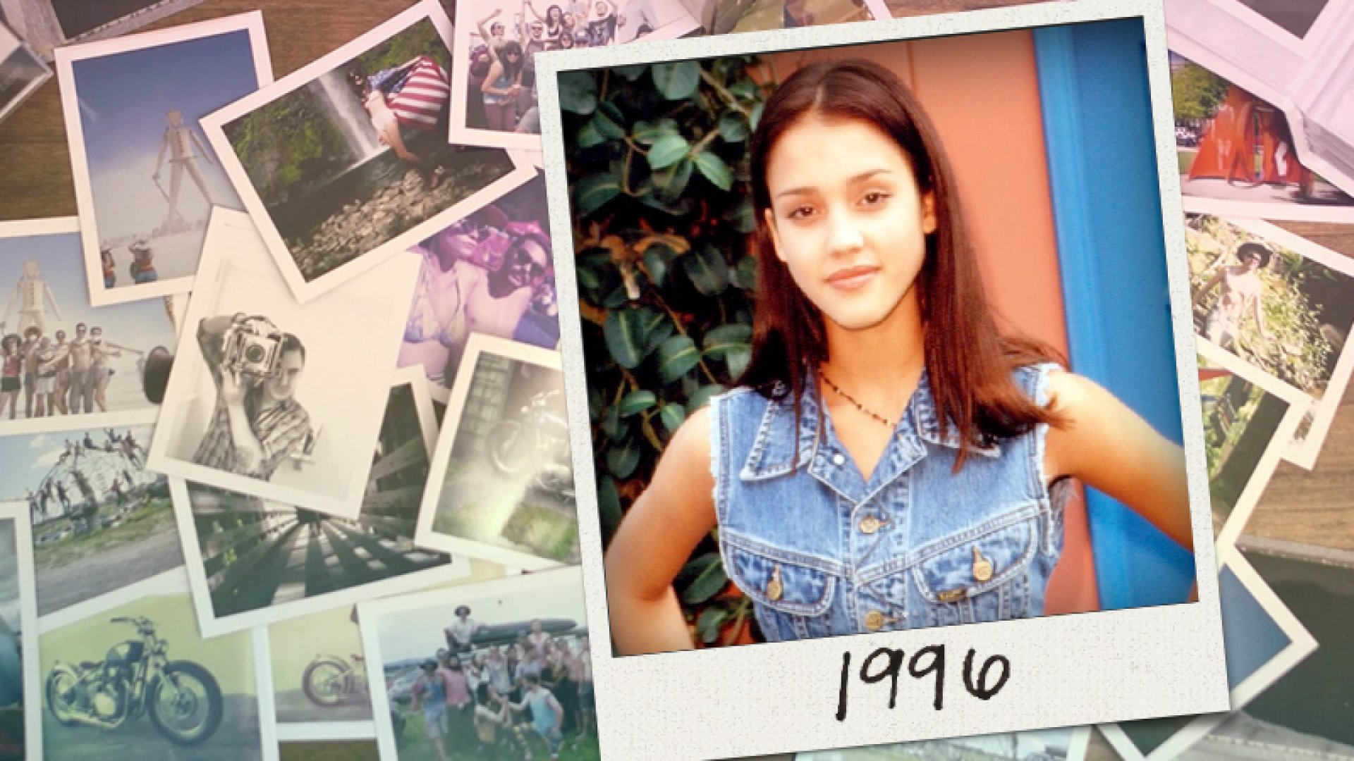 Jessica Alba as a teenager in 1996. She co-founded the Honest Company in 2011.