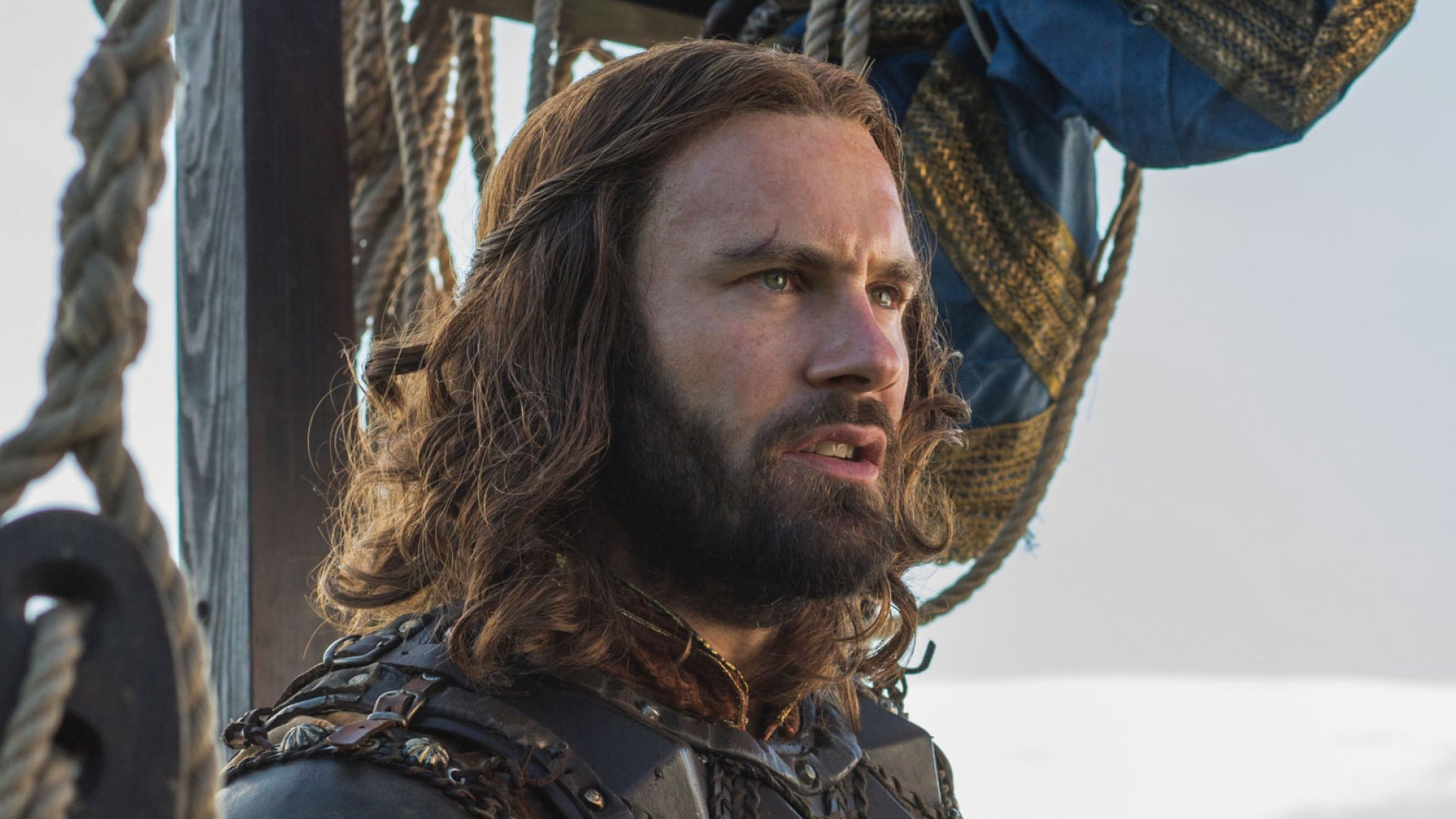 Clive Standen, who plays Rollo on 'Vikings.'