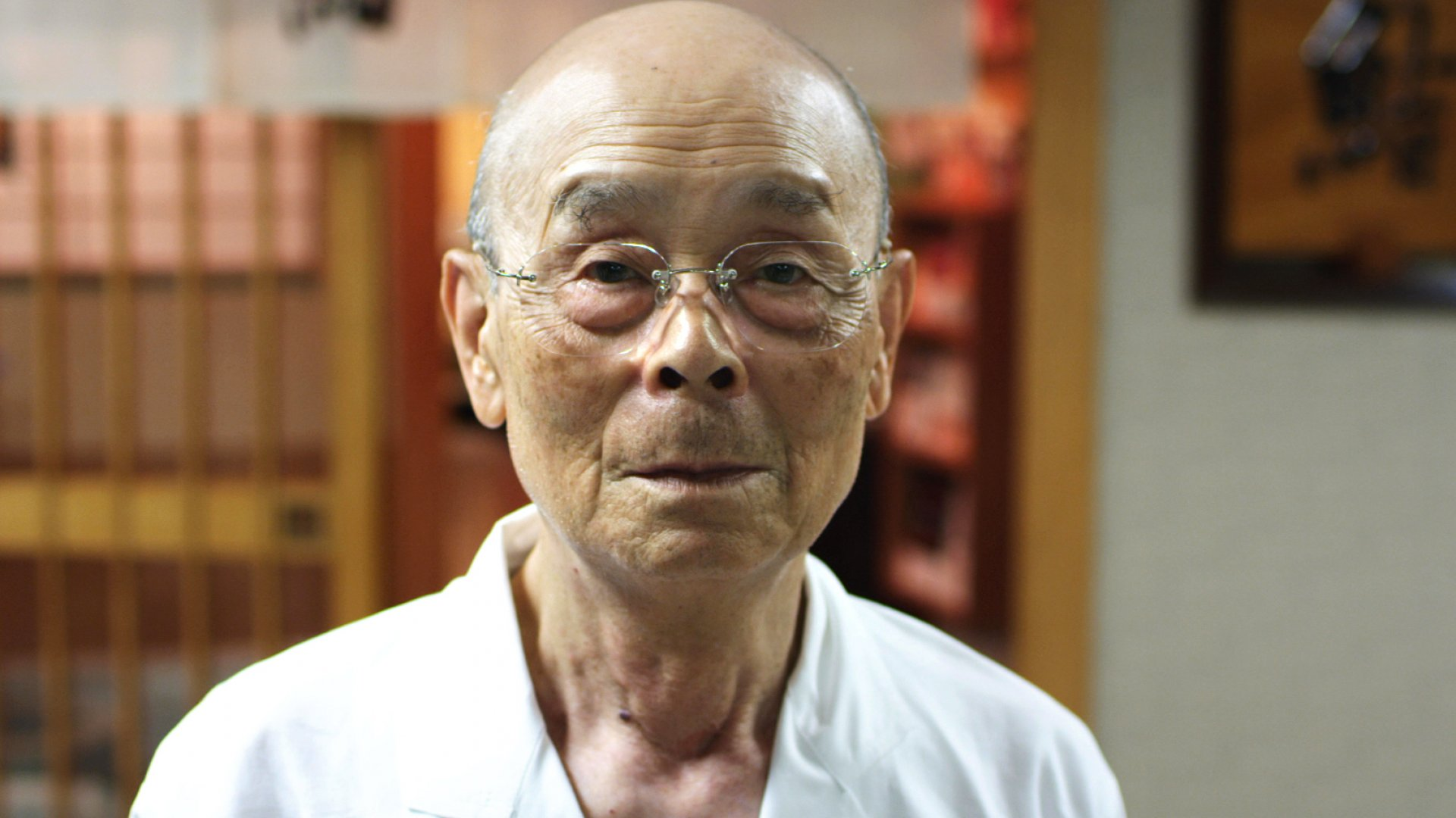 Jiro Ono in Jiro Dreams of Sushi.