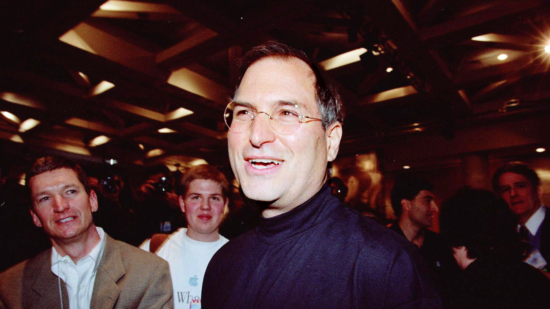 The late Apple CEO Steve Jobs.