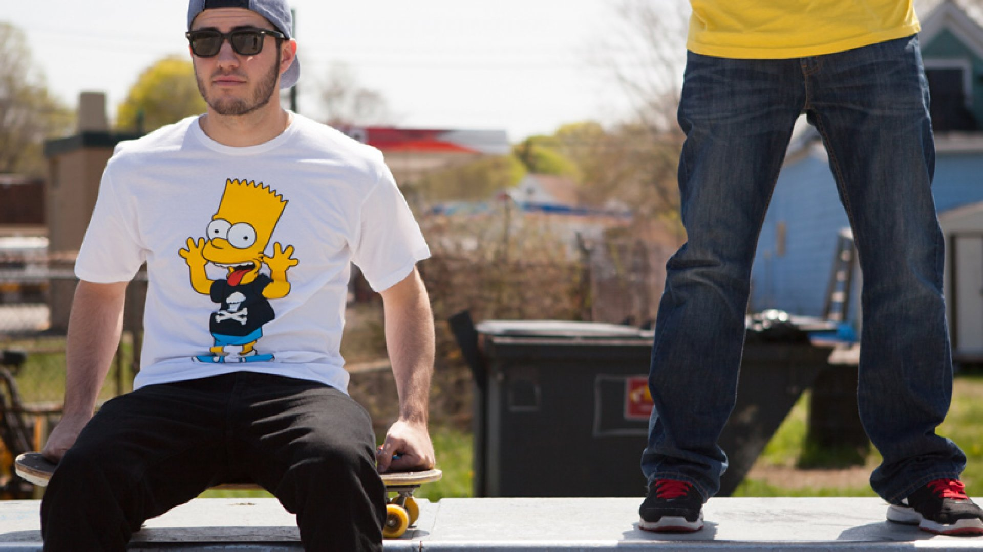 Johnny Cupcakes Meets The Simpsons