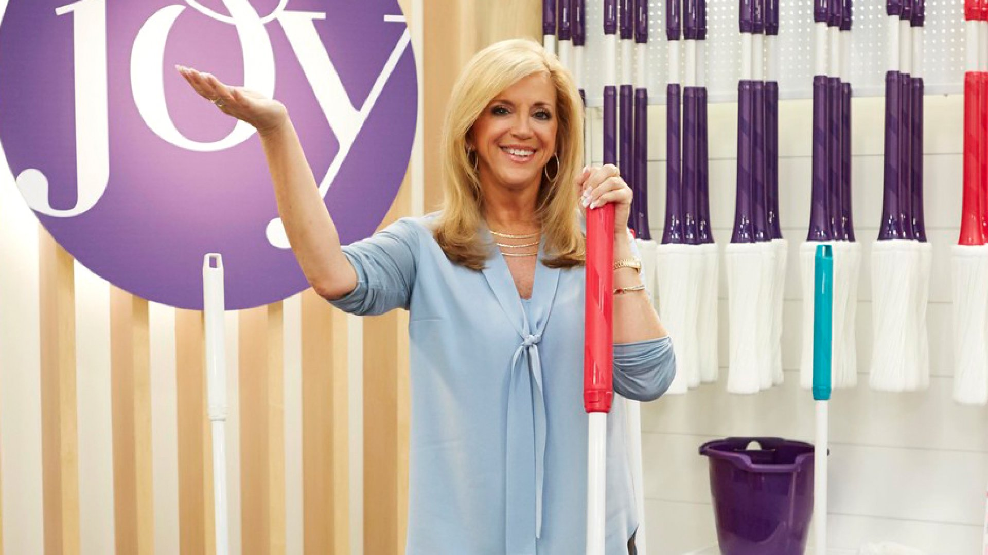 Joy Mangano, creator of the Miracle Mop and founder of Ingenious Designs, is now the subject of a major motion picture. Success didn't come easy.