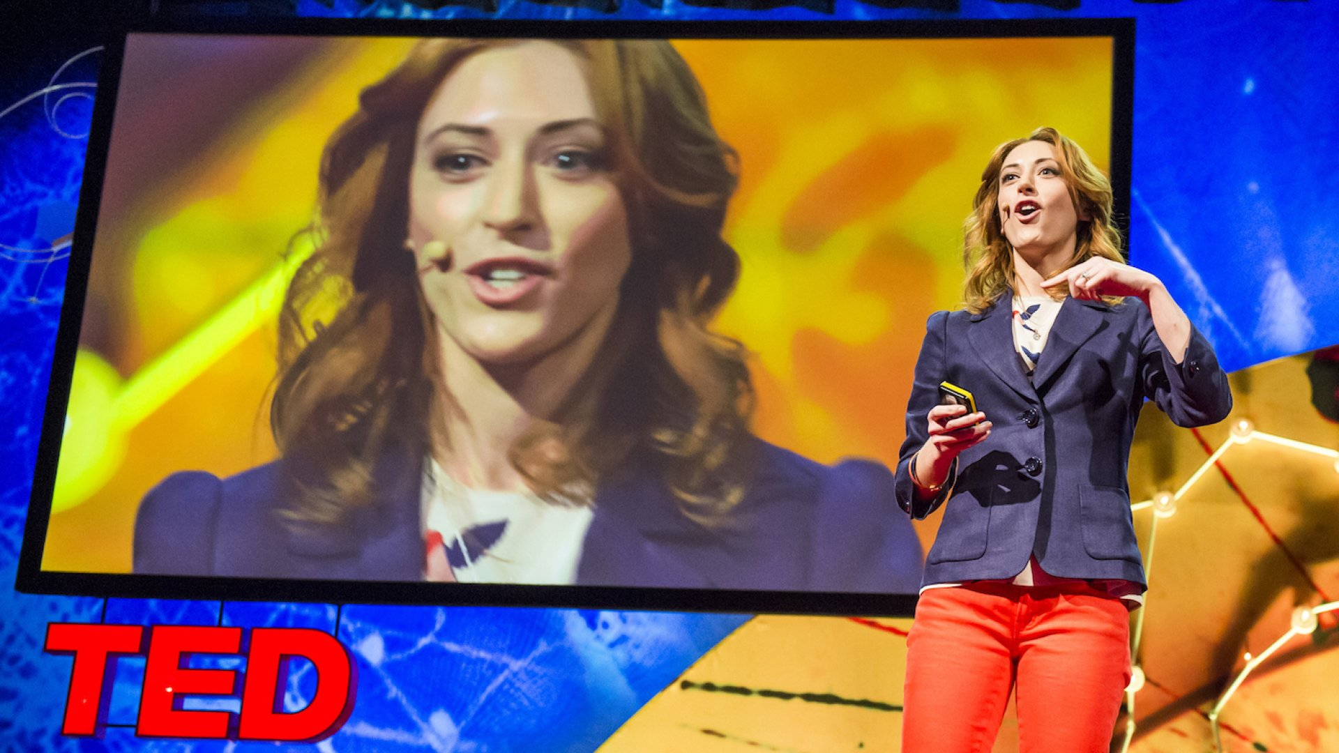 TED speaker and health psychologist Kelly McGonigal.