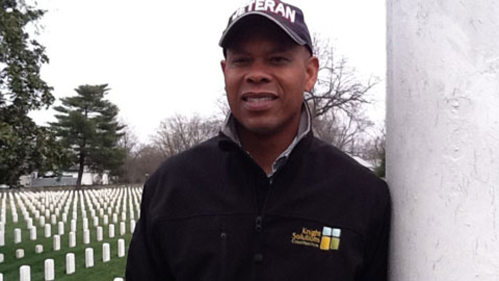 Kevin Knight is the founder and CEO of Knight Solutions, a construction company with the goal of hiring veterans to construct buildings, renovate cemeteries, and work on ground maintenance.