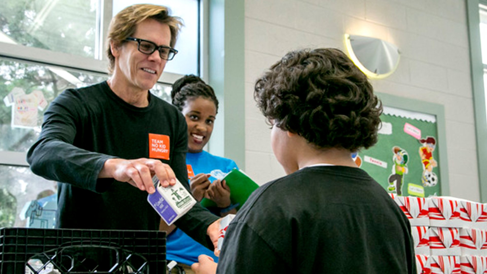 Kevin Bacon and Billy Shore: Hungry For Change