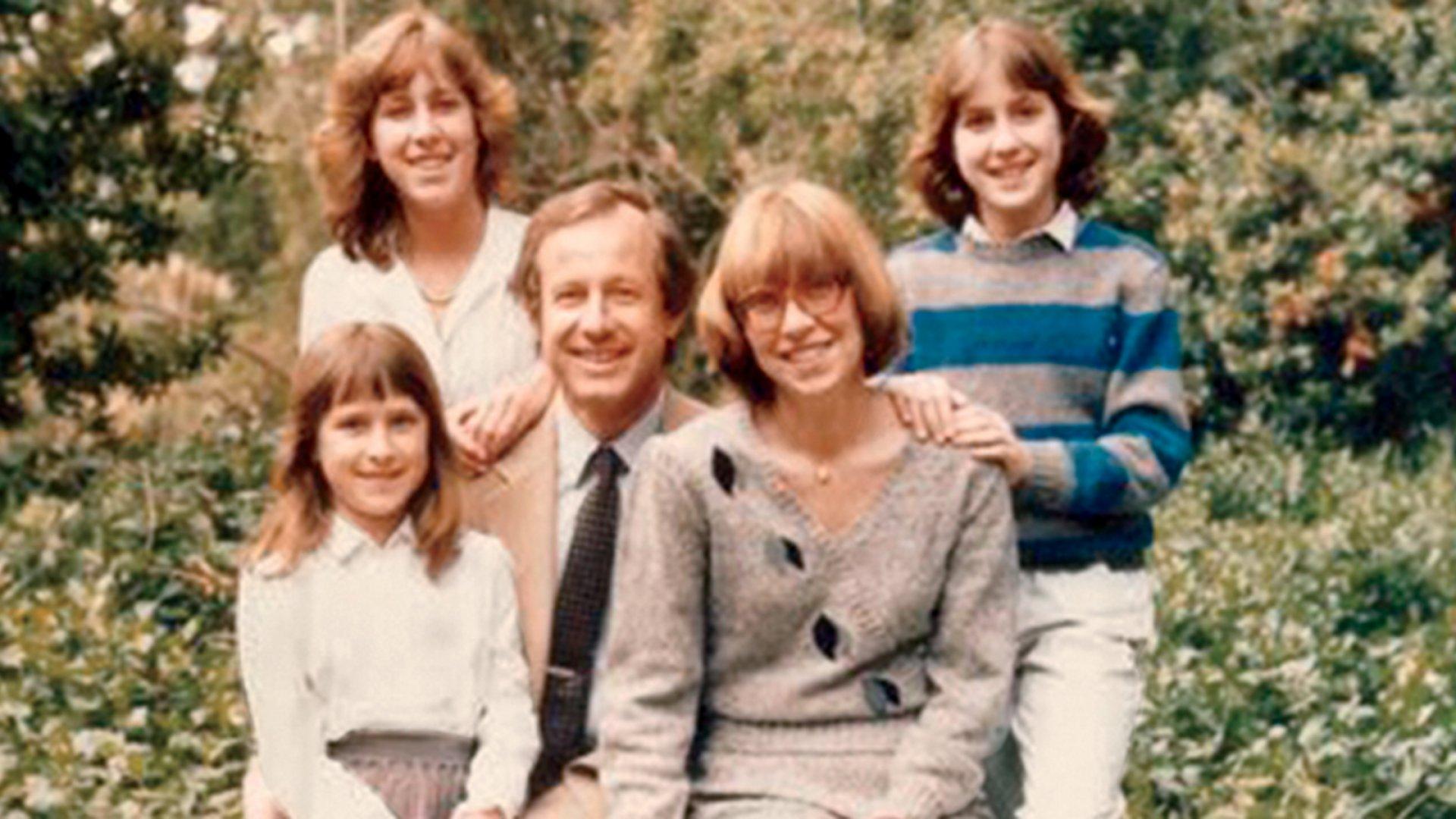 Anne Wojcicki (left) and her family.