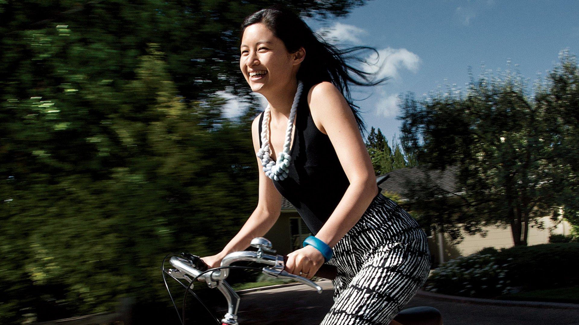 Lark Technologies founder Julia Hu.