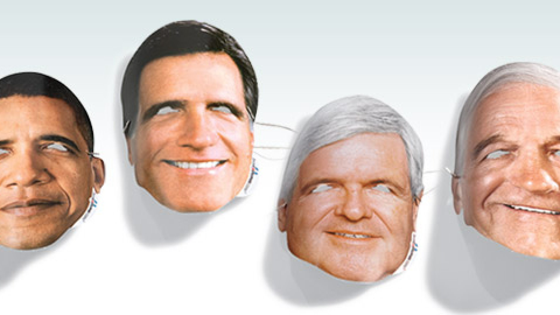 <b>Face Off</b> Can the sale of these paper masks predict who will win in November?