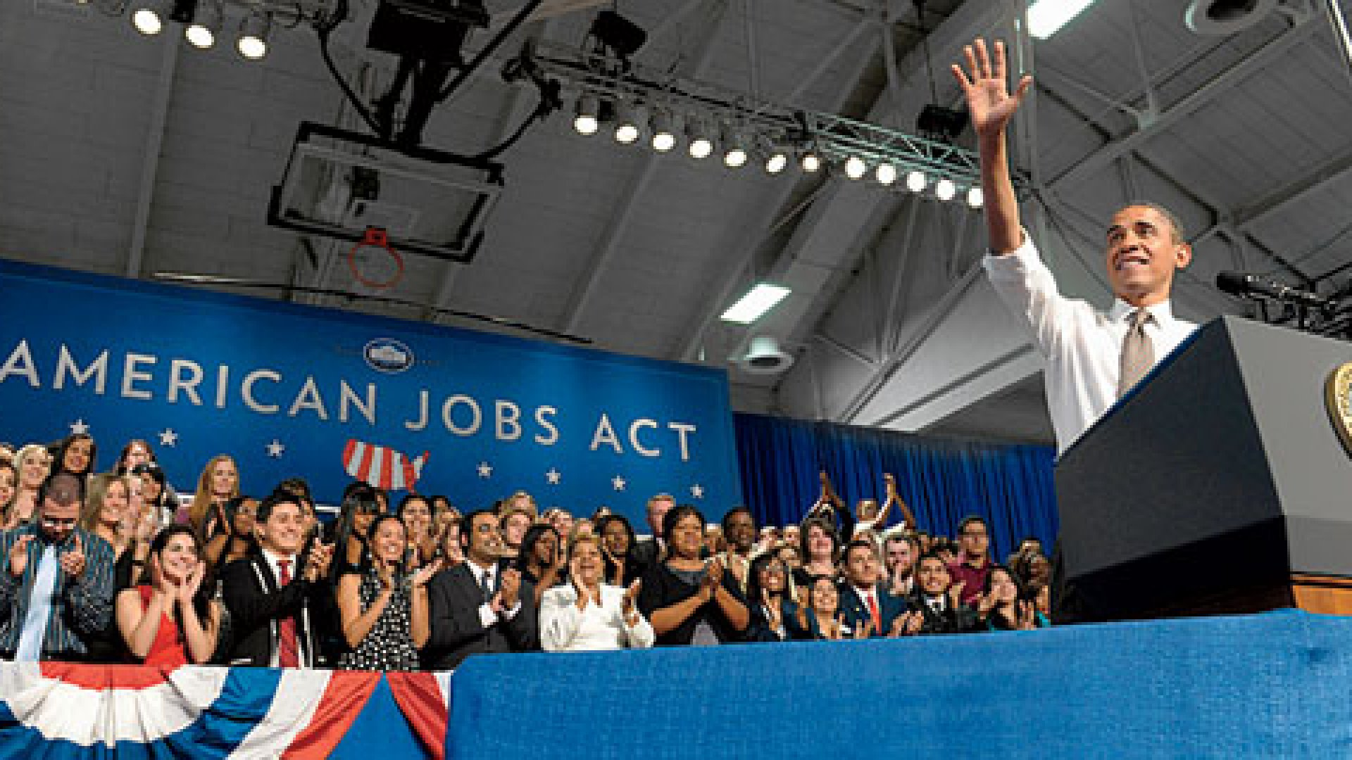 <b>Seal of Approval</b> President Obama's American Jobs Act includes one entrepreneur's proposal to boost crowdfunding.