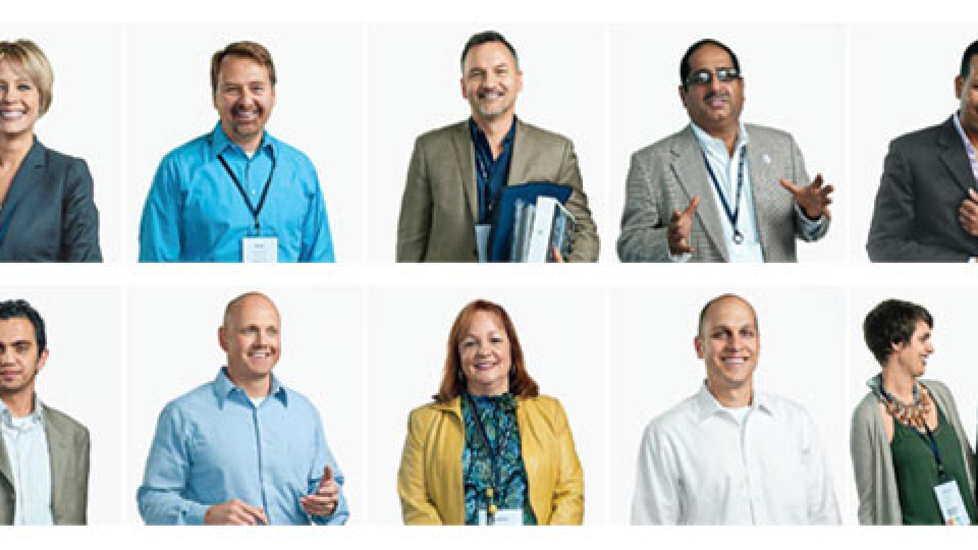 <strong>Straight Talk</strong> From top left: Jacquie Morgan, Mark Swanson, Lee Wochner, Adil Adi, David Doggette, Hassan Bawab, Daniel Schmidtendorff, Jennifer Scully, Sonny Clark, Brooks Bell, Jesse Lipson