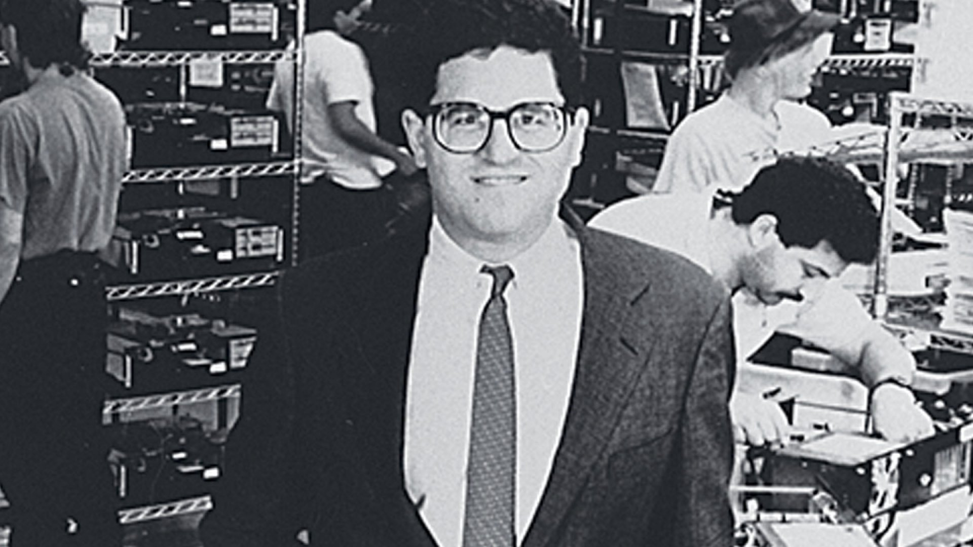 <strong>COLLEGE DROPOUT</strong> Michael Dell, after leaving the University of Texas