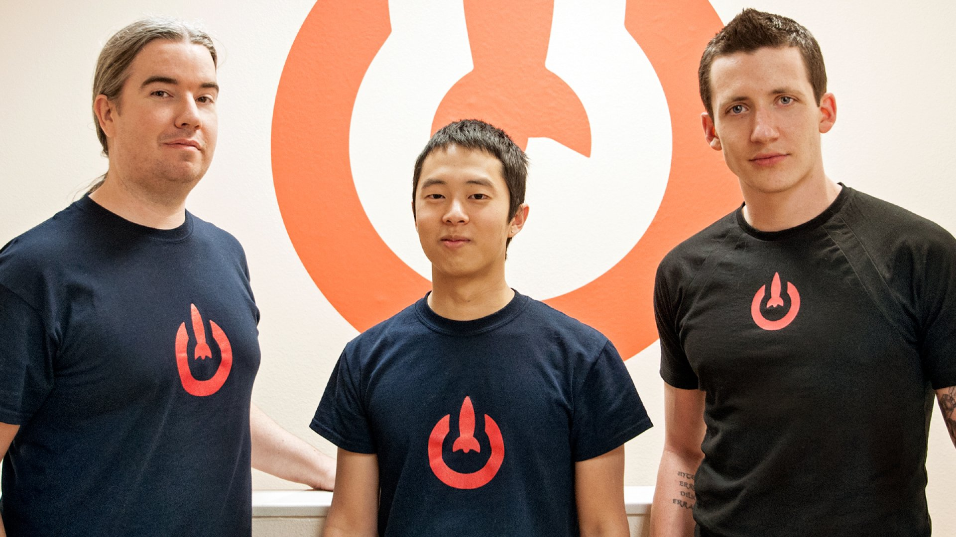 LaunchKey co-founders Devin Egan, Yo Sub Kwon and Geoff Sanders.