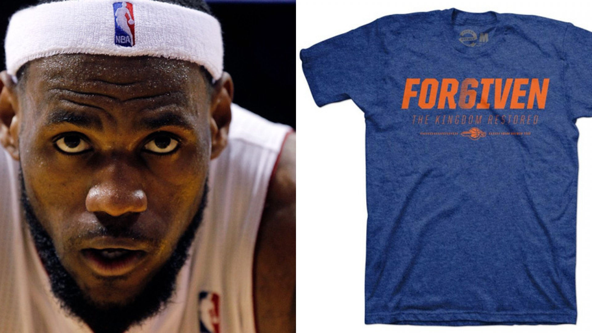 How a T-Shirt Company Capitalized on King James' Return