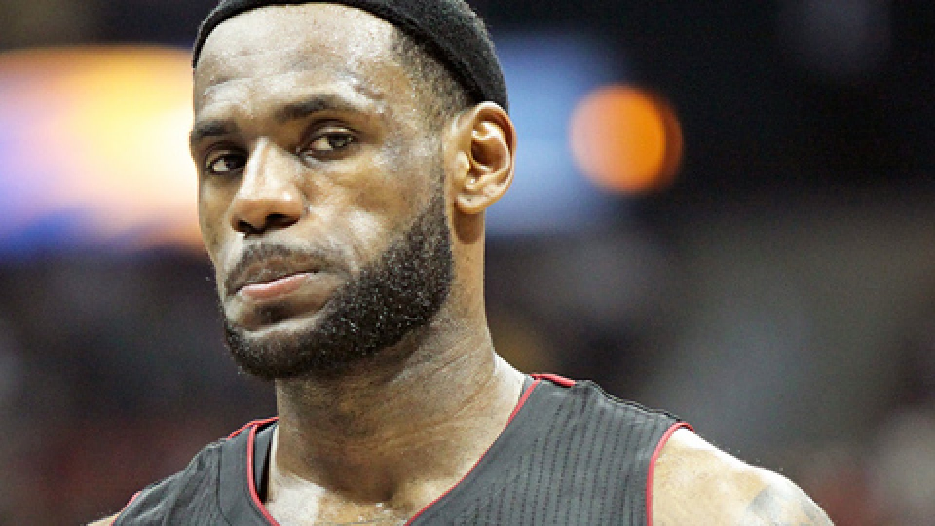 Lebron James is renowned for both his star performance and his whiny attitude.