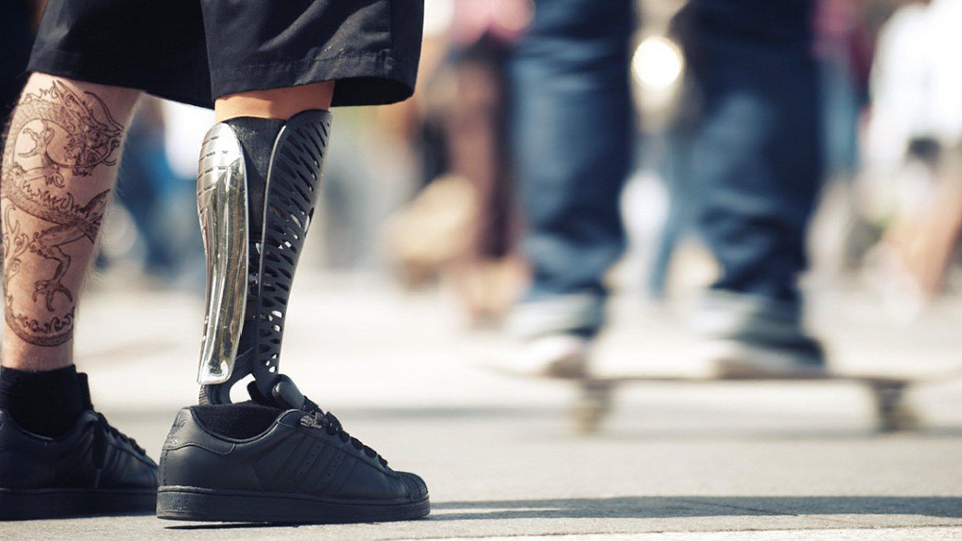 Bespoke Innovations Prosthetic.