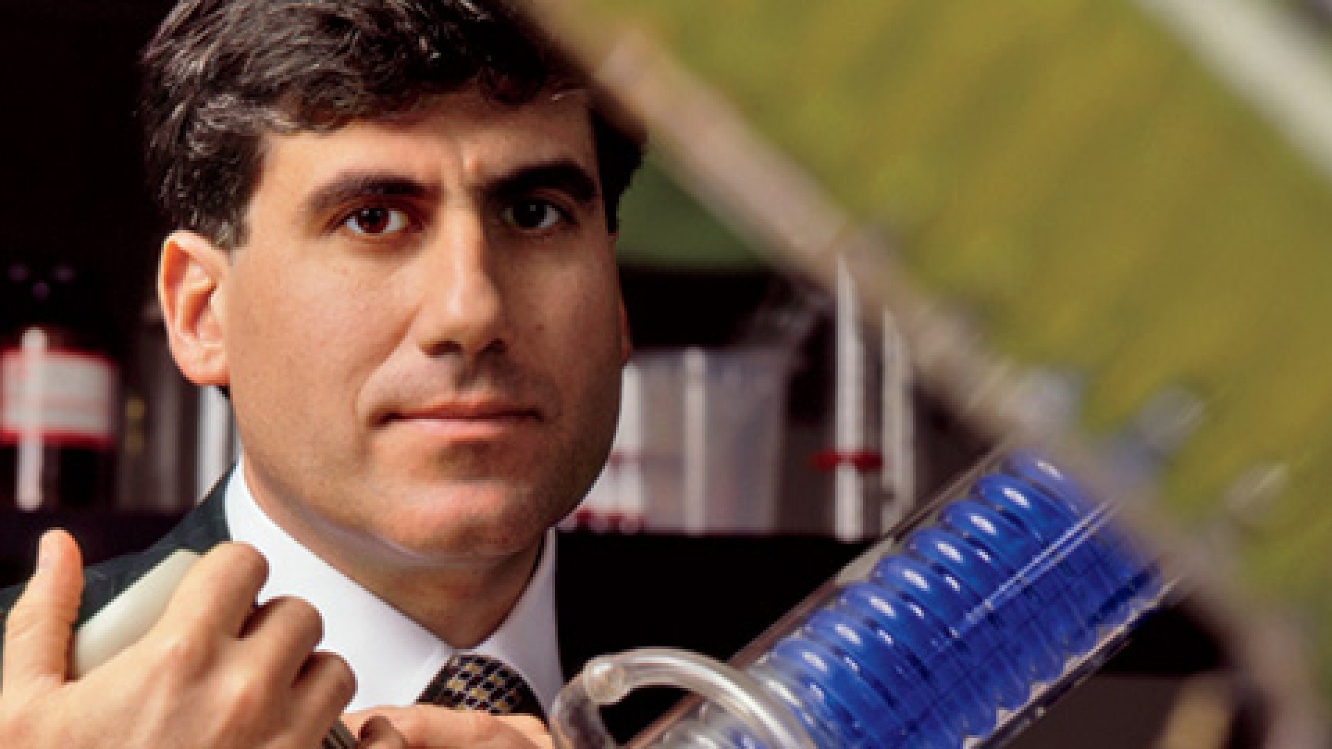<strong>In His Element</strong> Frank Baldino Jr. was the rare CEO who was at home in the lab.