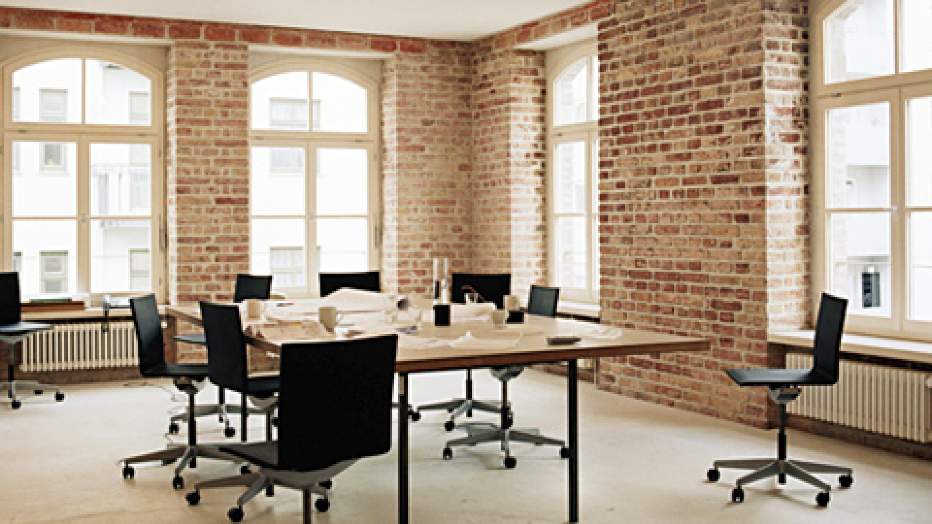 Temporary co-working facility NextSpace charges $20 for a day pass.
