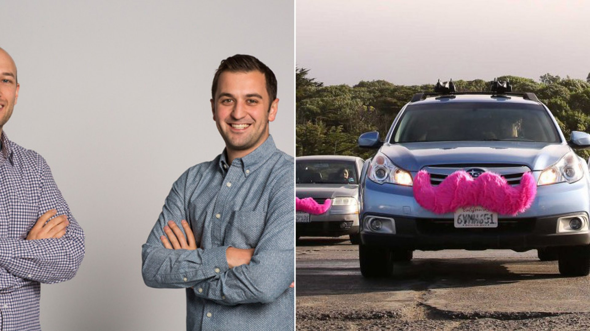 Logan Green, left, teamed up with John Zimmer in 2007 to found a ride-sharing service. In 2012, they pivoted their idea to create the fast-growing car-hailing company Lyft. <br> <br>