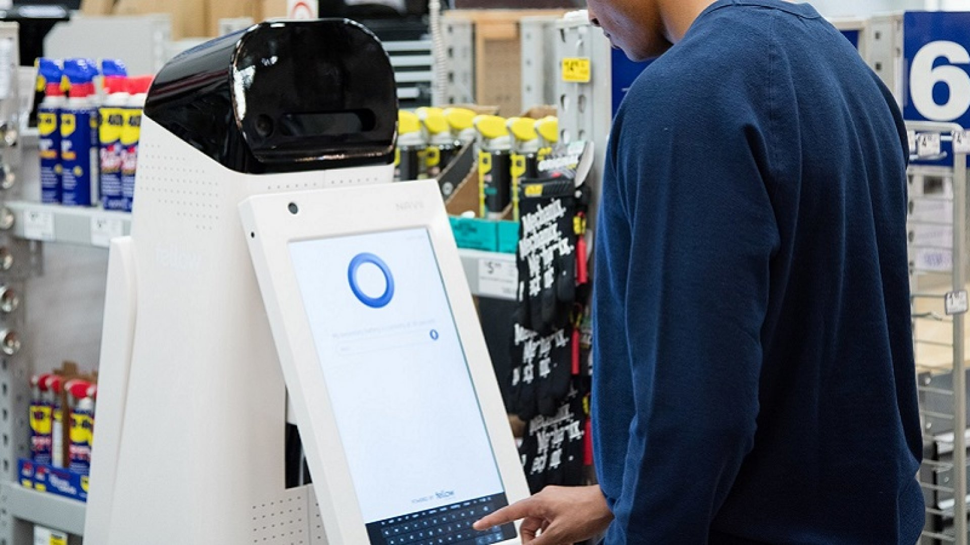 Lowe's Introduces New Retail Robot to Help Customers