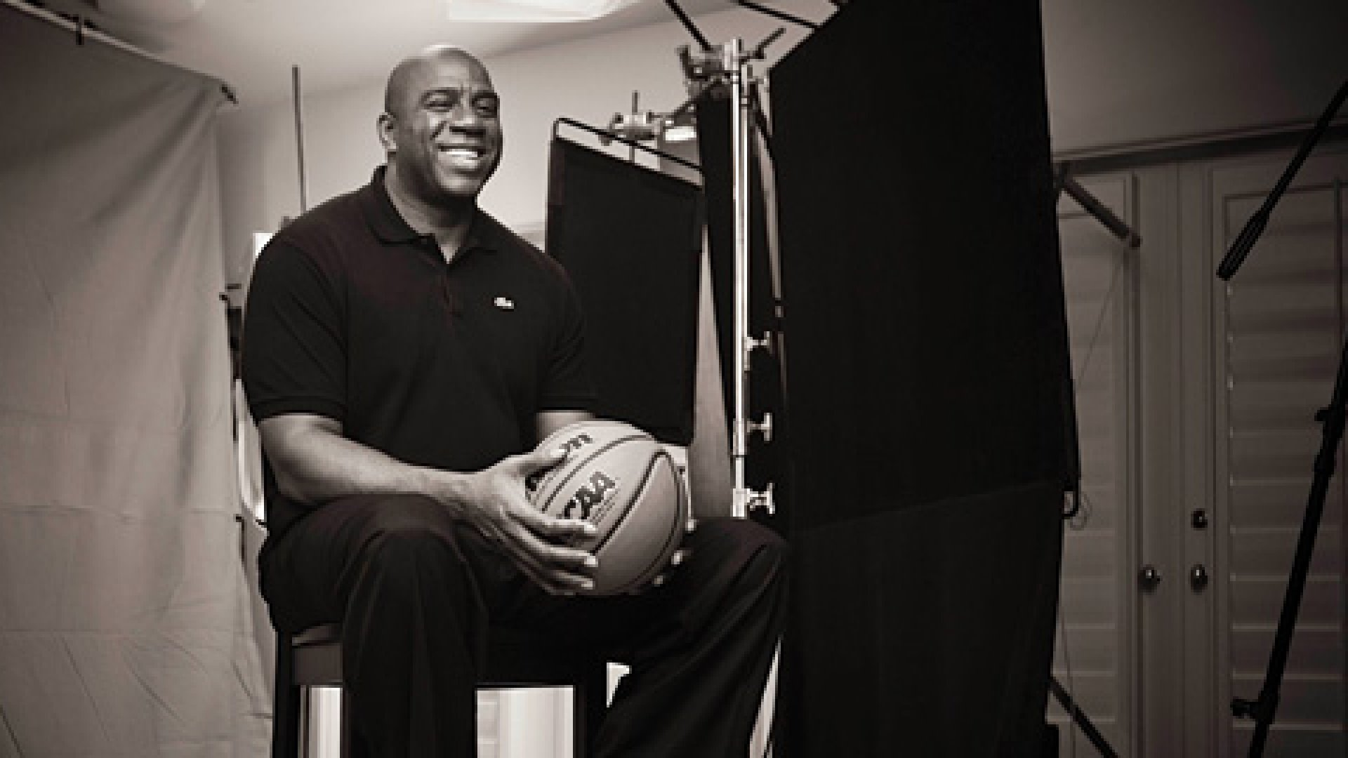 "<strong>#32:</strong> Earvin ""Magic"" Johnson says, ""It has truly been a journey for me having to find comfort in new roles throughout my life off the basketball court such as becoming an entrepreneur."""