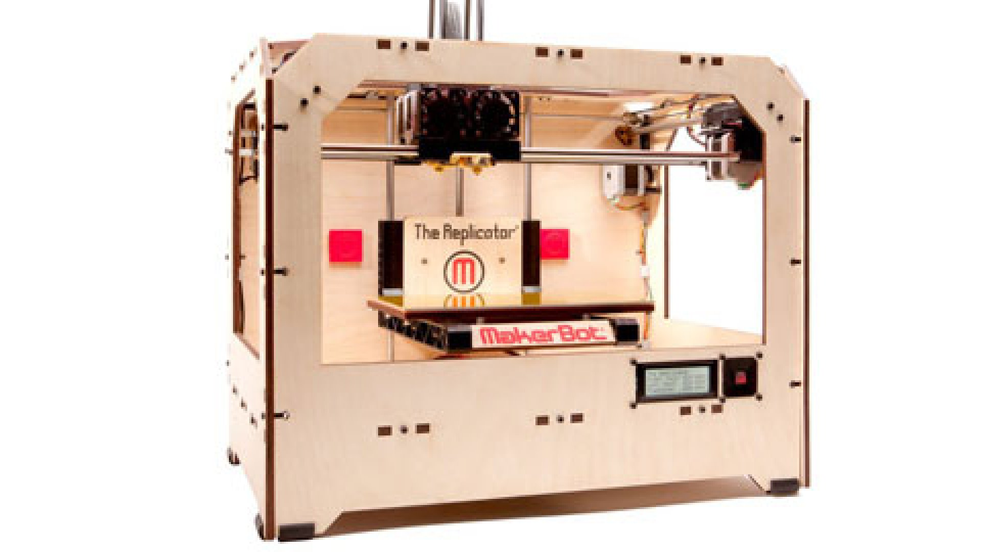 A LITTLE PIECE OF STAR TREK: Makerbot debuted its new 3D printer for consumers at the Consumer Electronics Show.