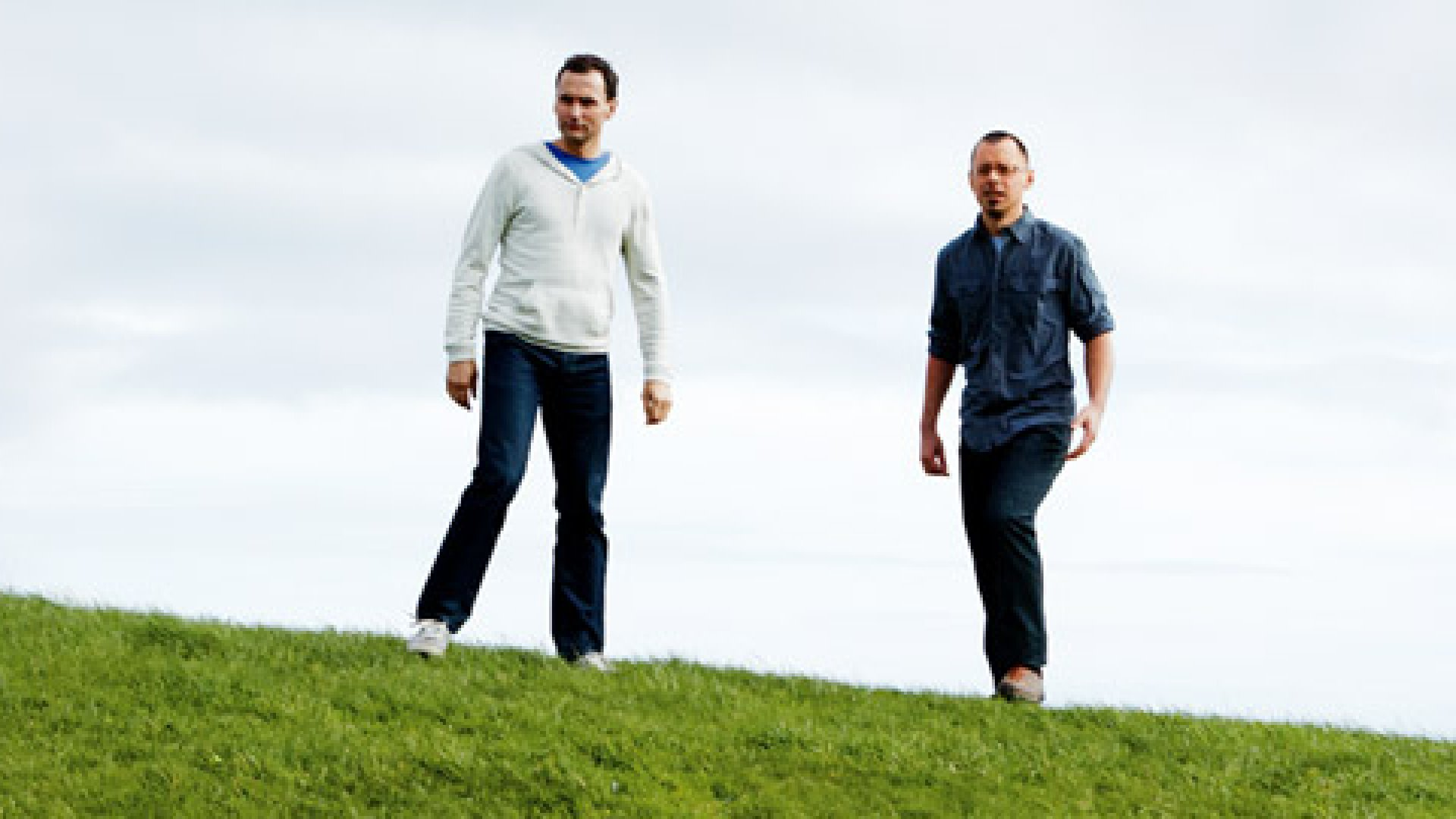 <strong>DIGITAL INDSUTRIALISTS</strong> Derek Elley (left) and David ten Have, founders of Ponoko, in their hometown of Wellington, New Zealand