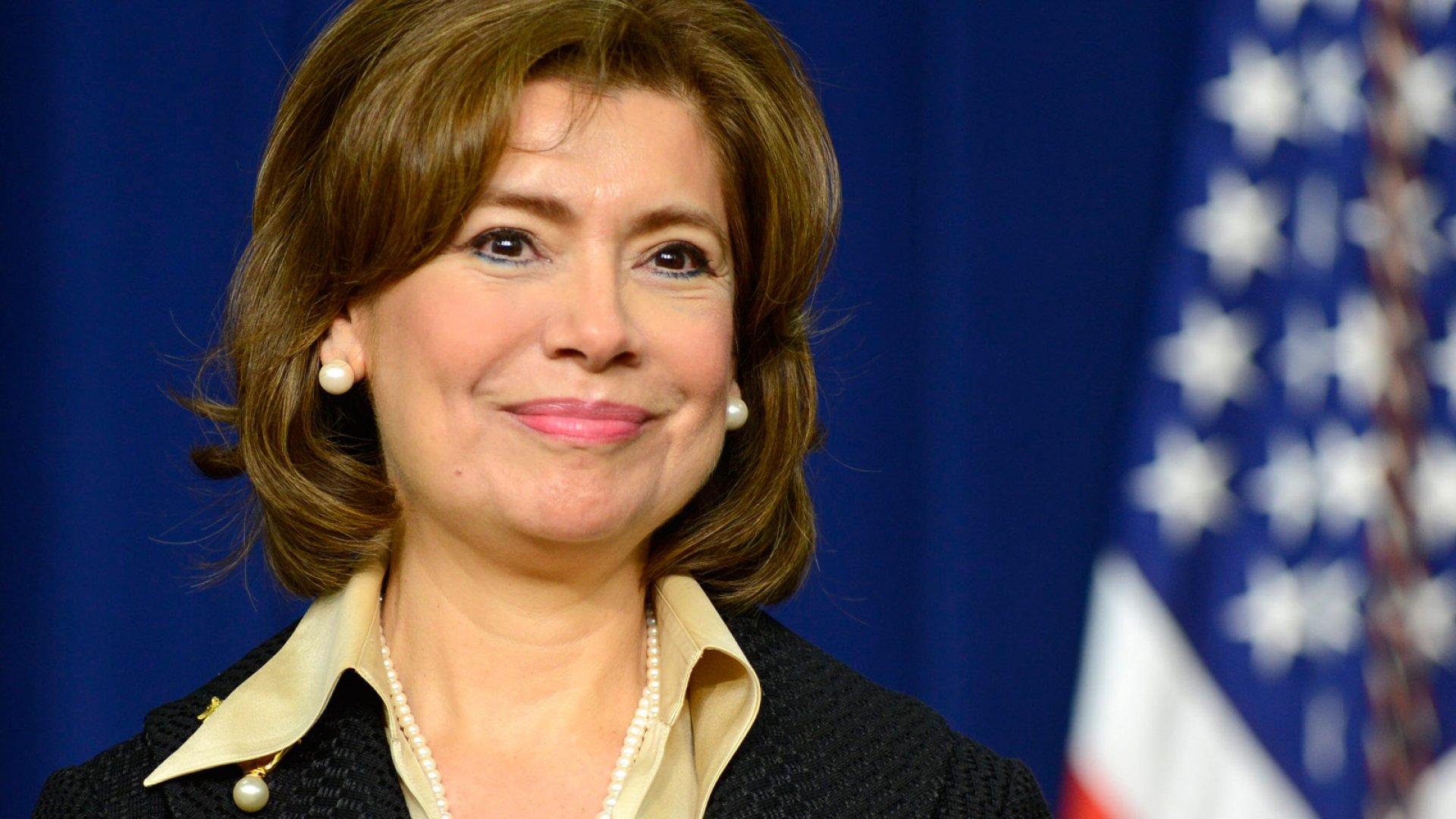 SBA's New Chief Charts Path Toward Her Legacy