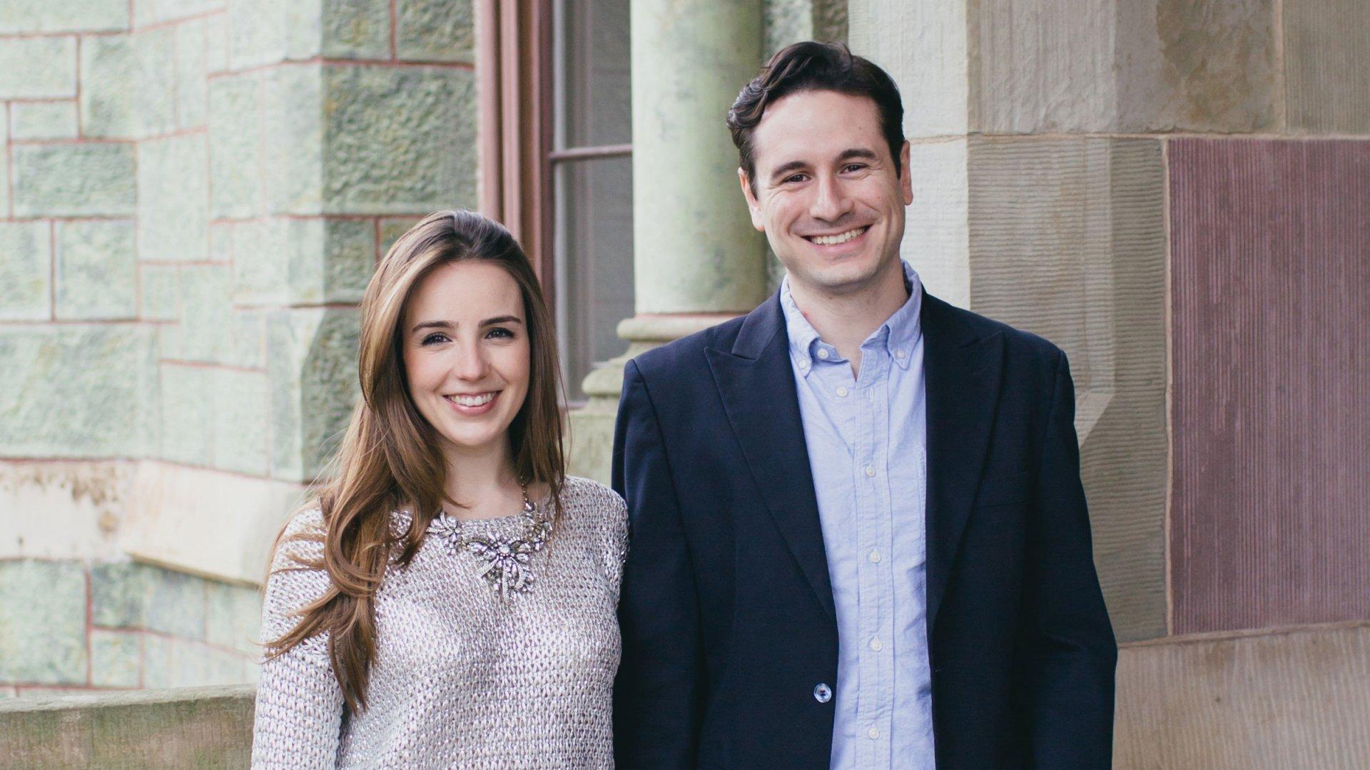 Mariana Hernandez and Cristian Rios, Founders of White Rabbit.