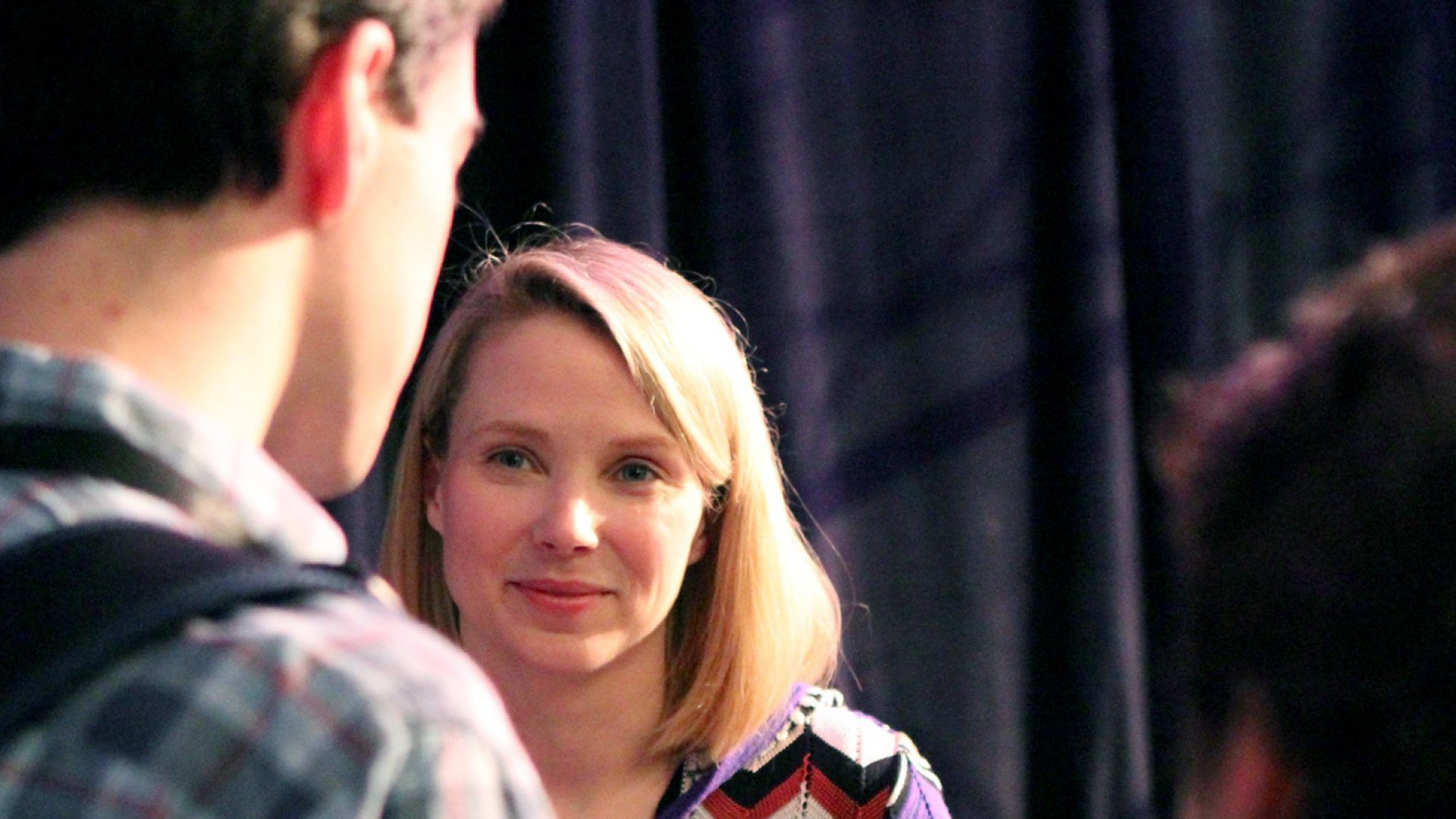 Marissa Mayer at the Convention Center District, Austin, March 11, 2011