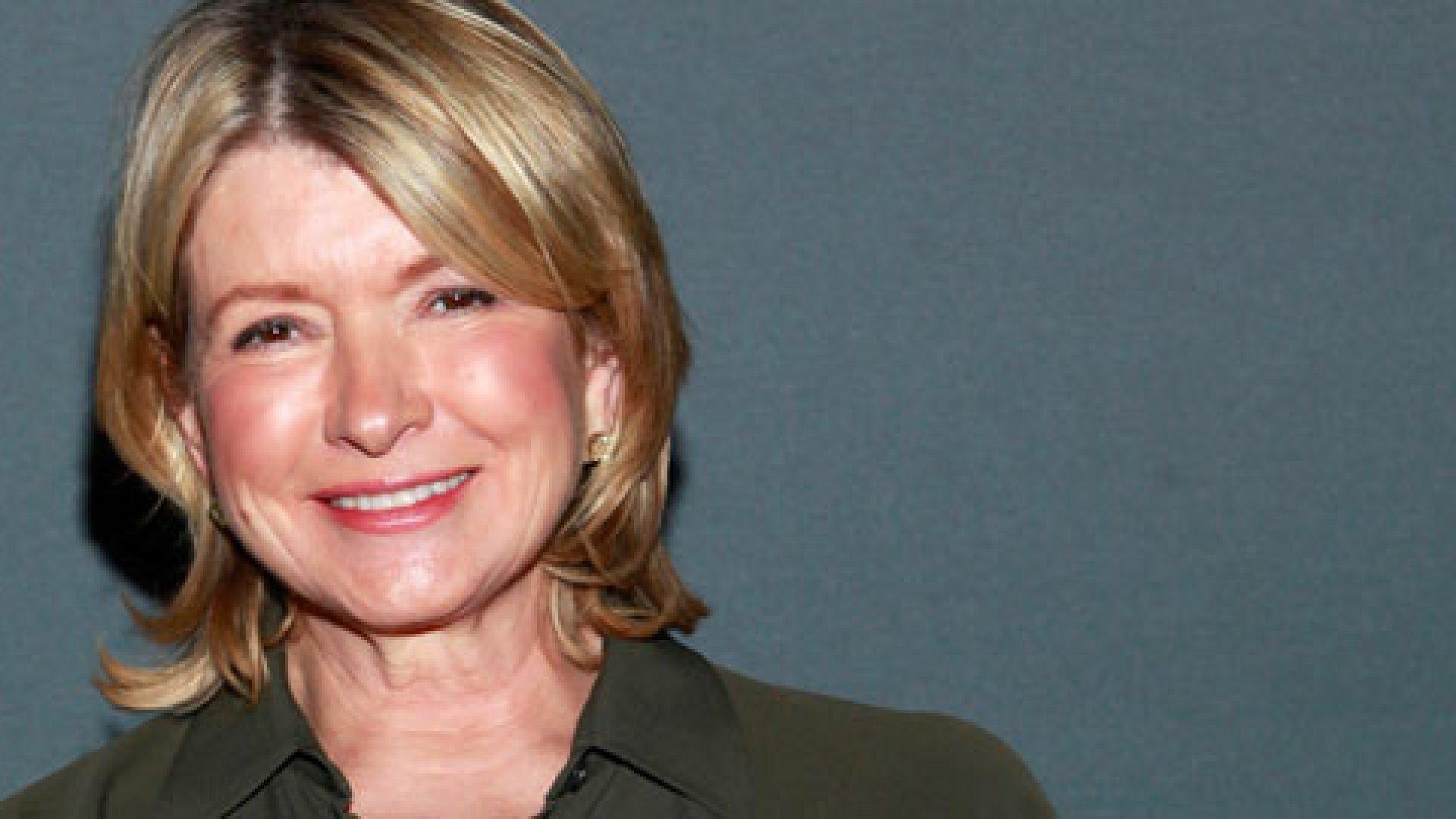 """""""I really cannot be destroyed."""" <em>—Martha Stewart</em>"""