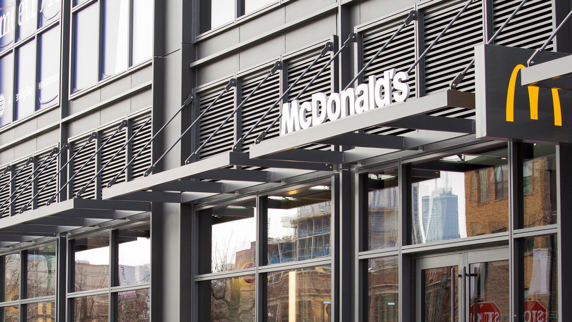 McDonald's new headquarters restaurant.