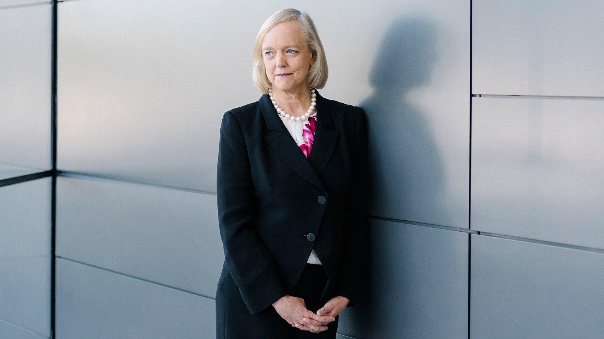 Hewlett Packard CEO Meg Whitman