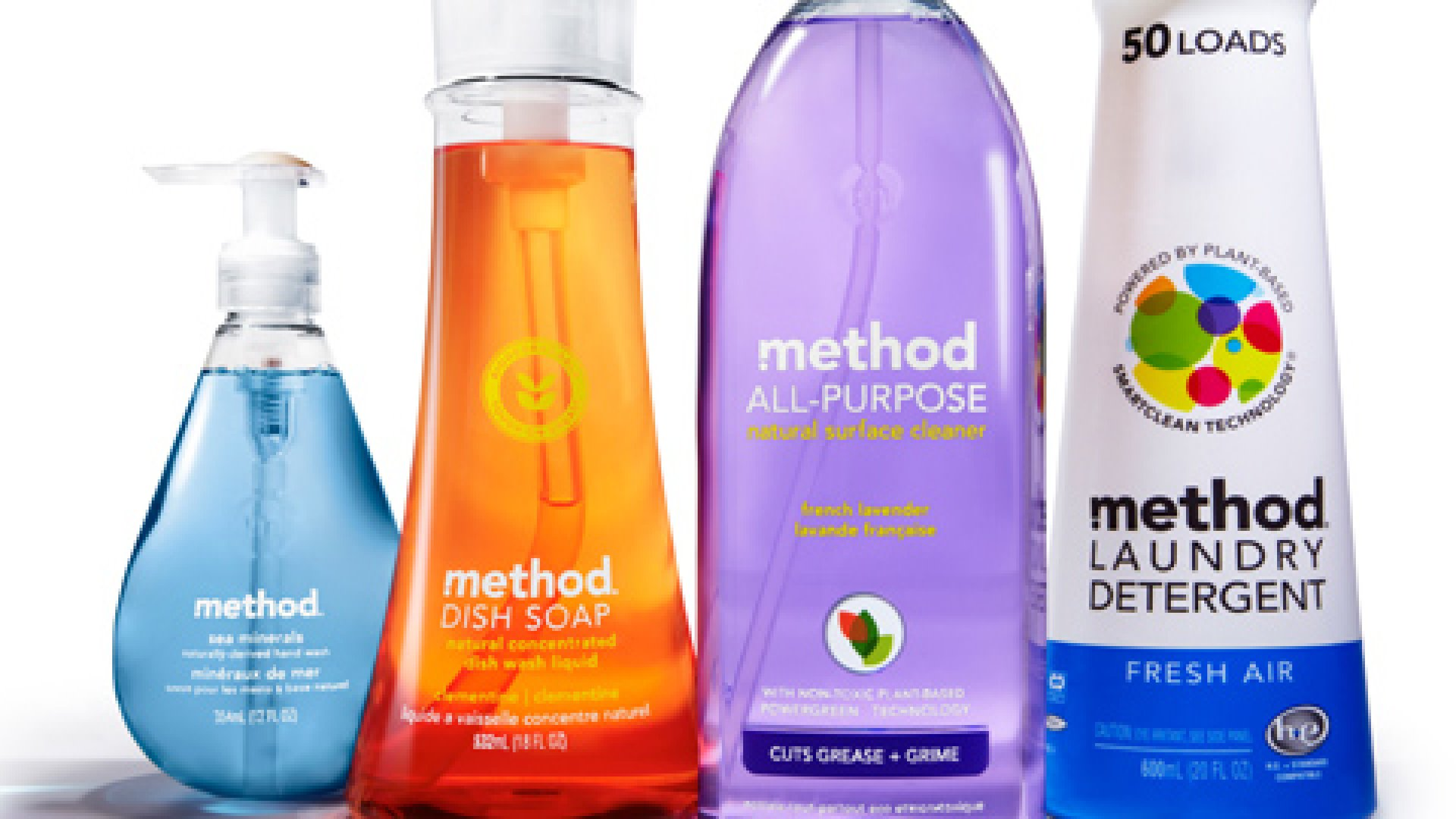 Green Merger: Method Bought by Ecover