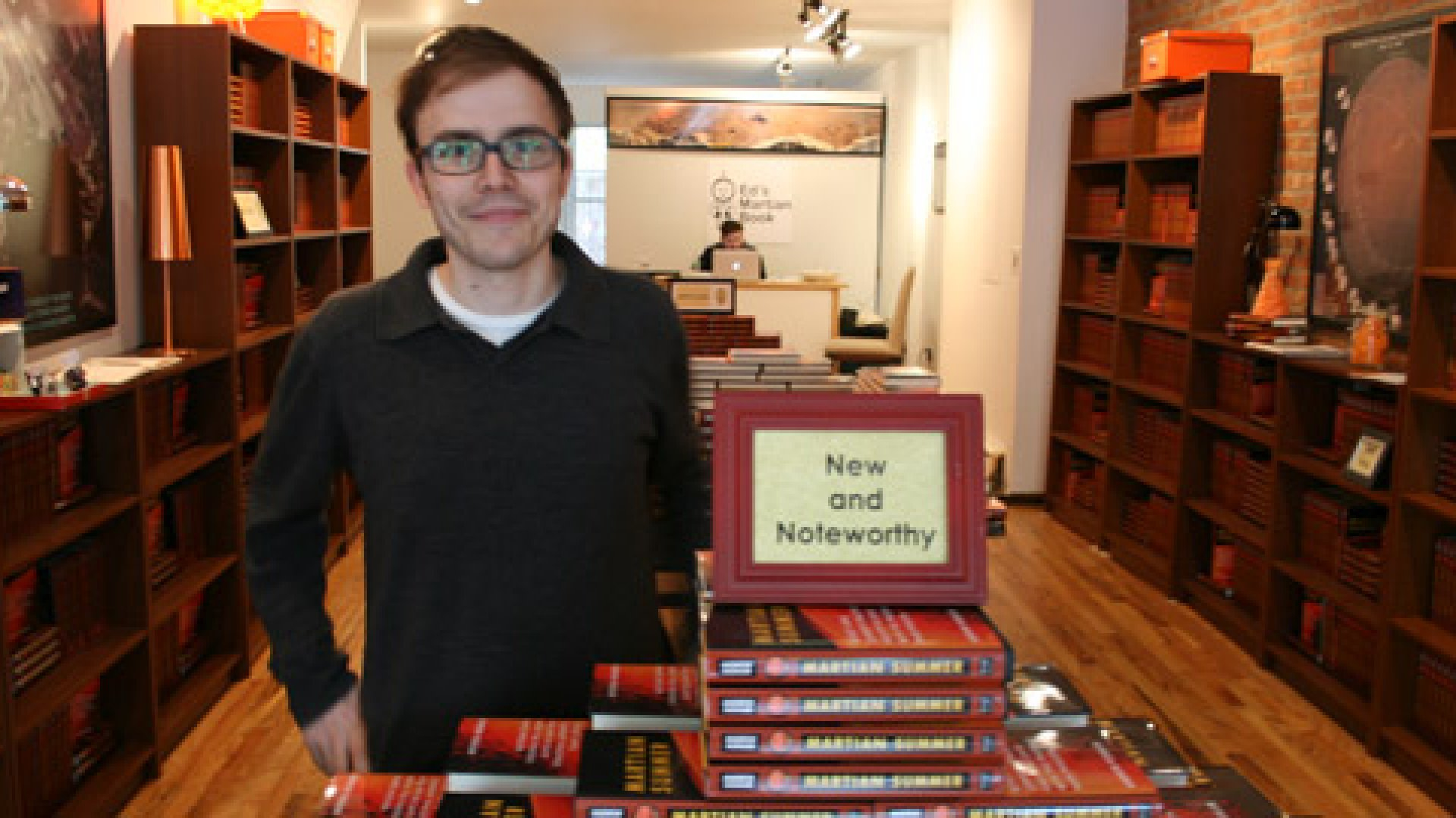 <b>The Book Seller</b>: Andrew Kessler, 32, opened a store to sell his book. His one book. Was it a publicity stunt? Sure. Did it work? Absolutely.