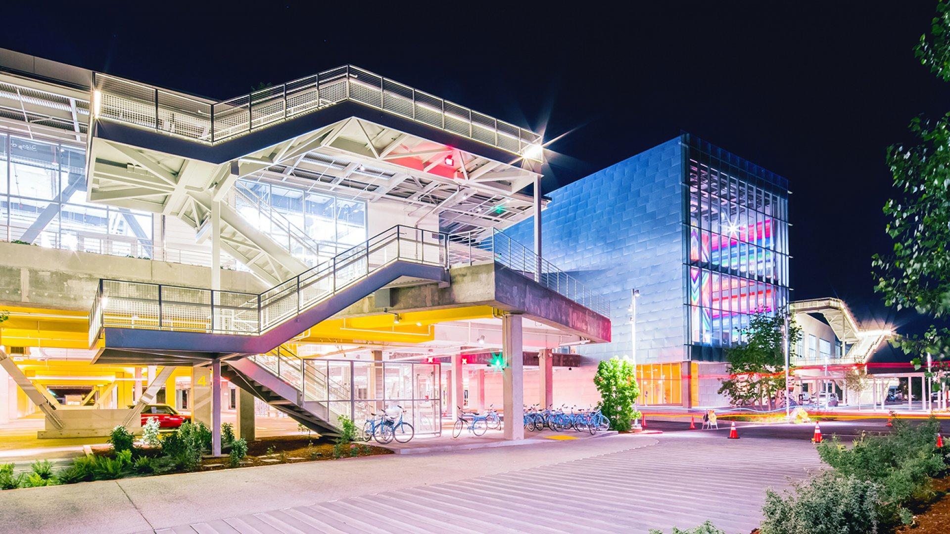 Facebook's Menlo Park headquarters.