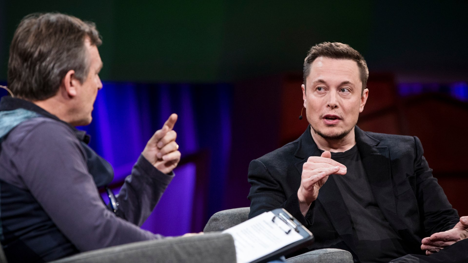 Elon Musk interviewed by Chris Anderson at TED2017 - The Future You.