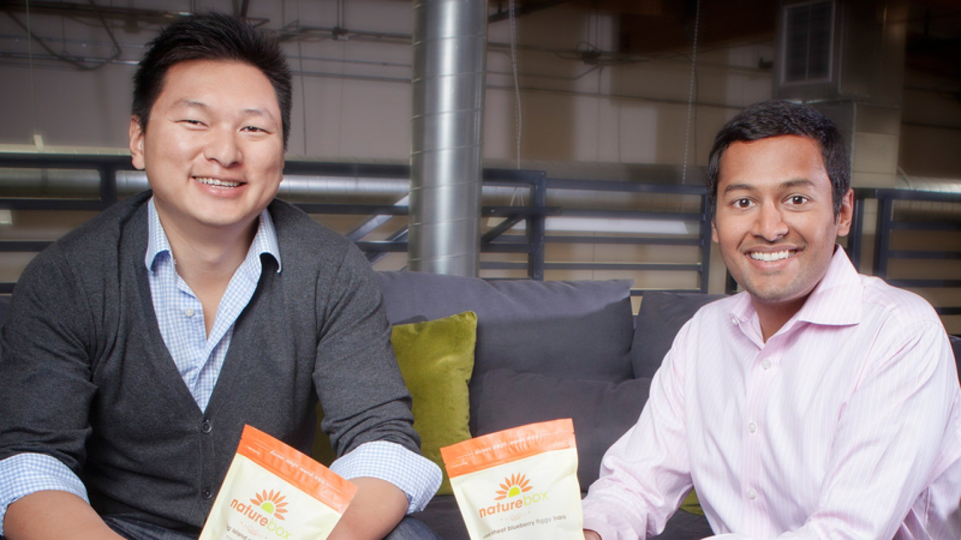 Ken Chen and Gautam Gupta are the co-founders of NatureBox.
