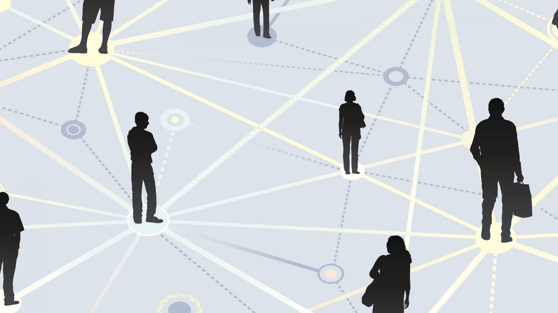 network, social network, communication, advice