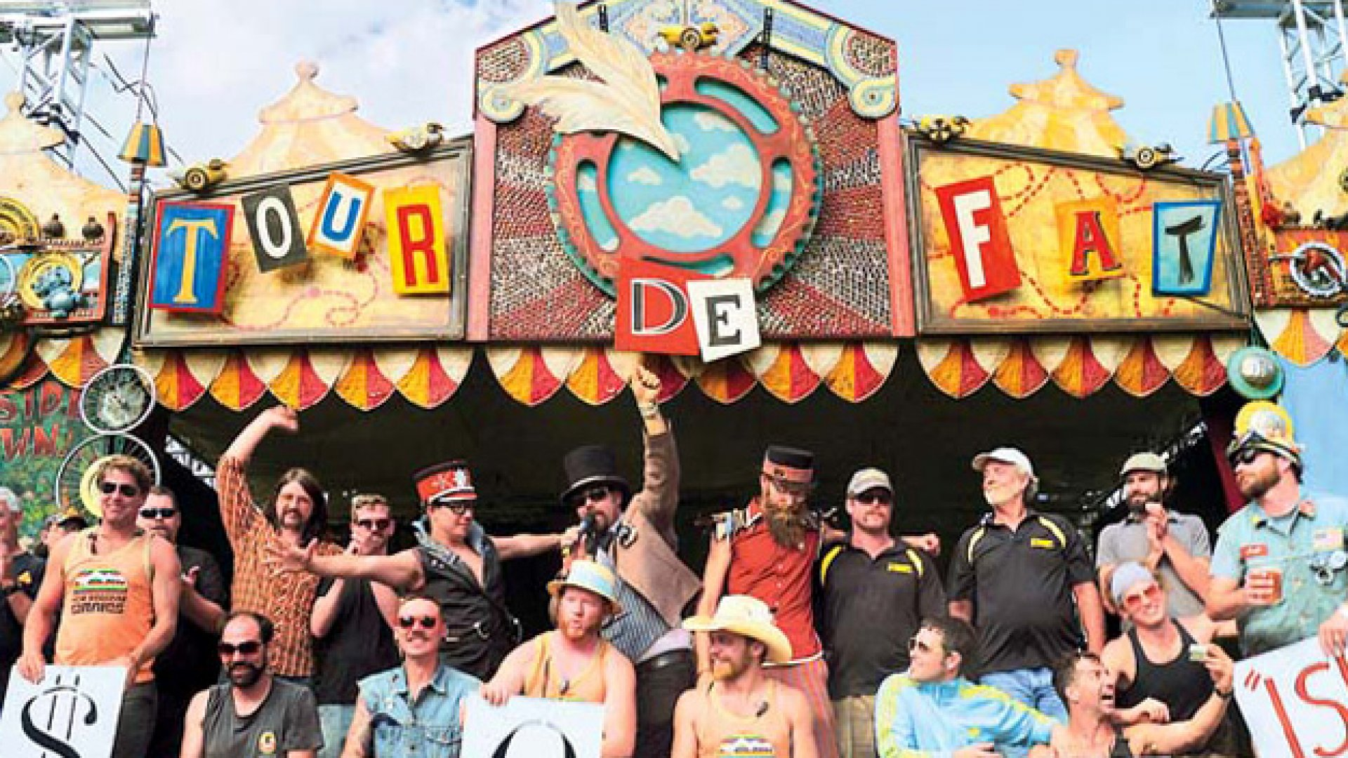 <b>JUST ANOTHER DAY</b> New Belgium's employees raised $500,000 through its 2012 Tour de Fat, a bicycling carnival that traveled through 15 cities to raise money for local nonprofits.