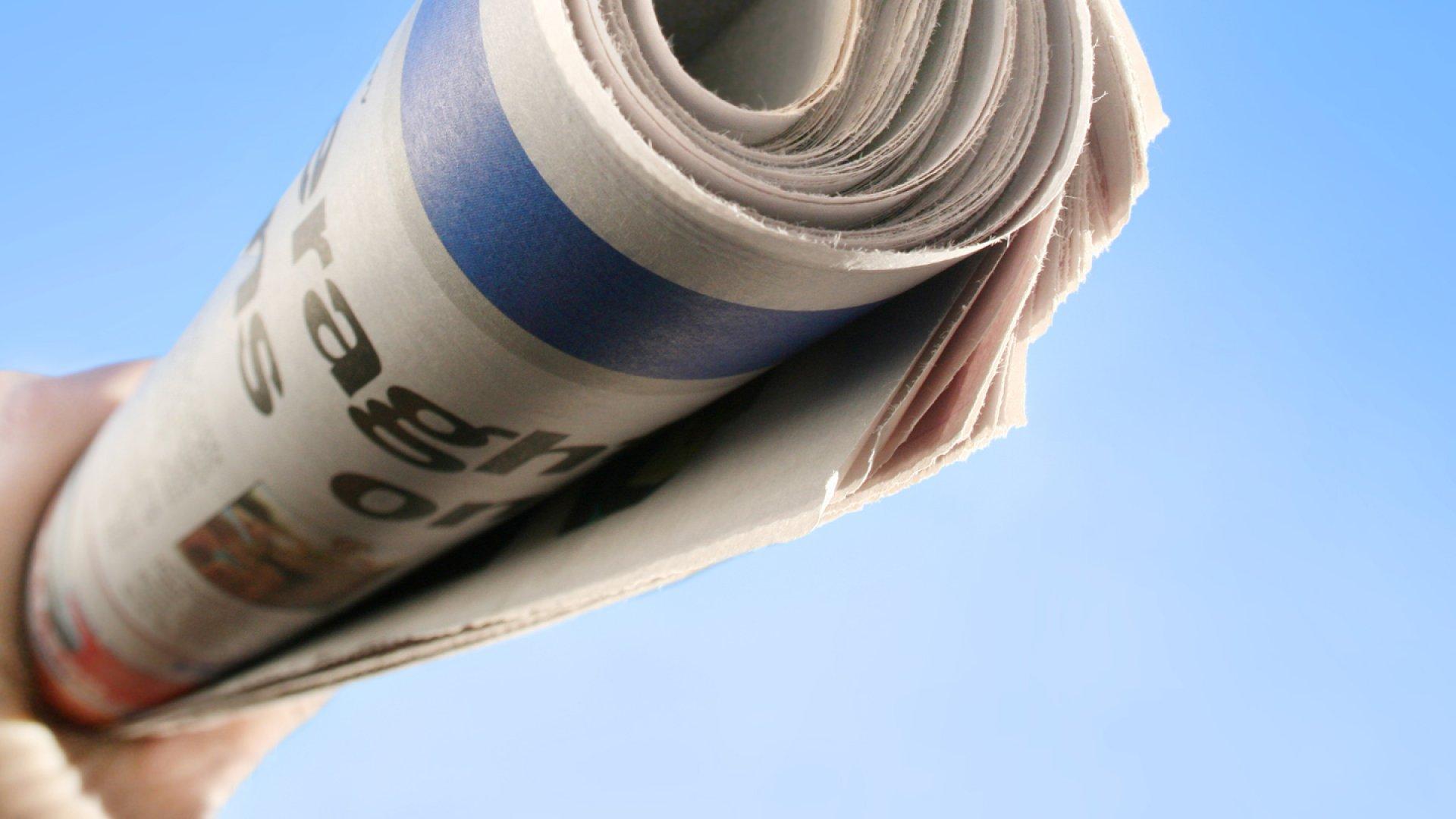 Why Warren Buffett Bought A Newspaper