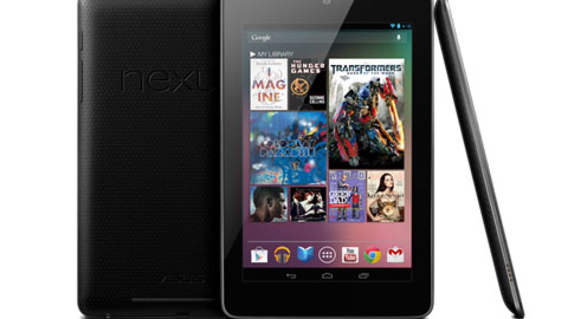 The Google Nexus 7 tablet