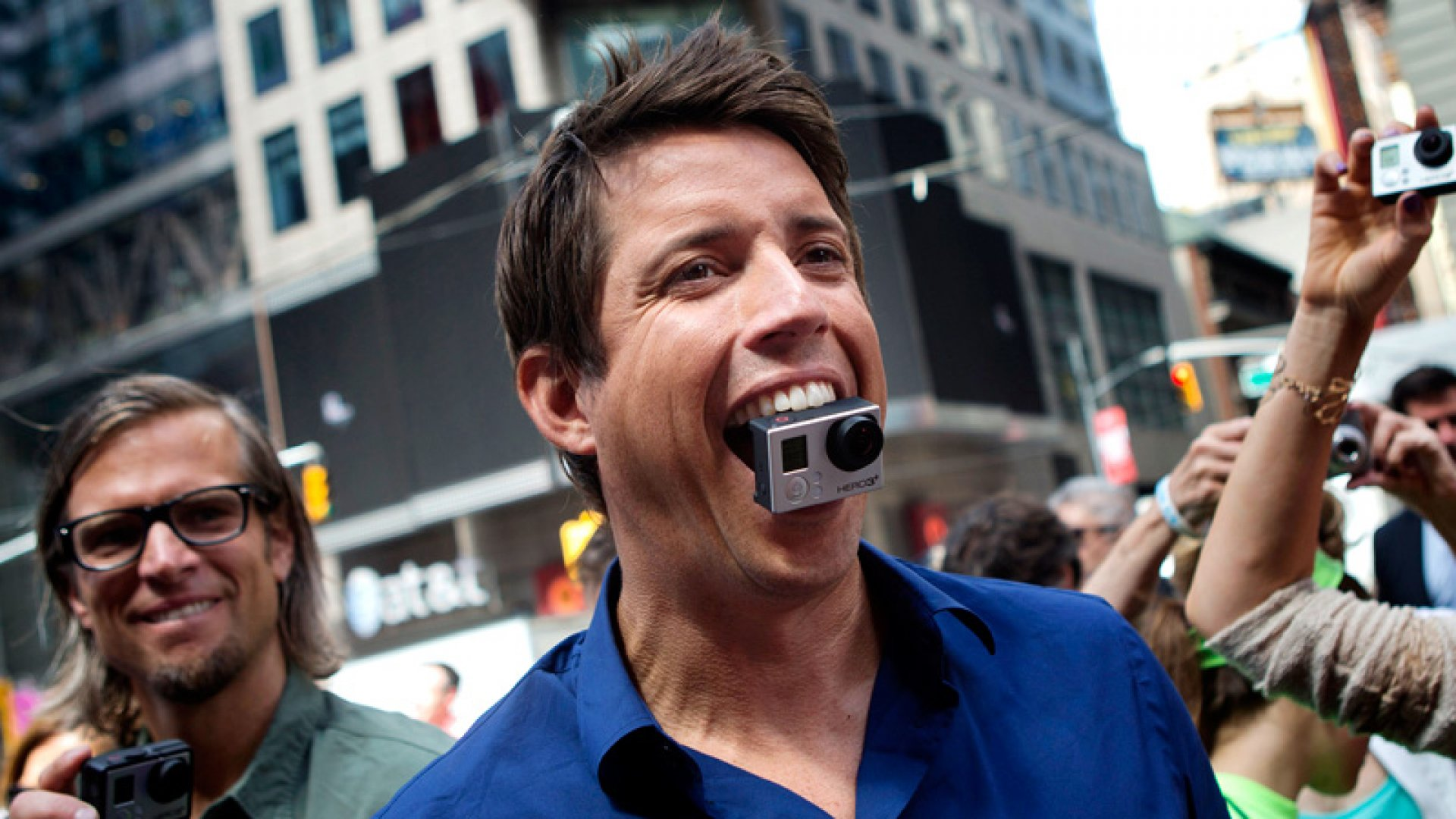 GoPro Cashes In on Its First Day of Trading
