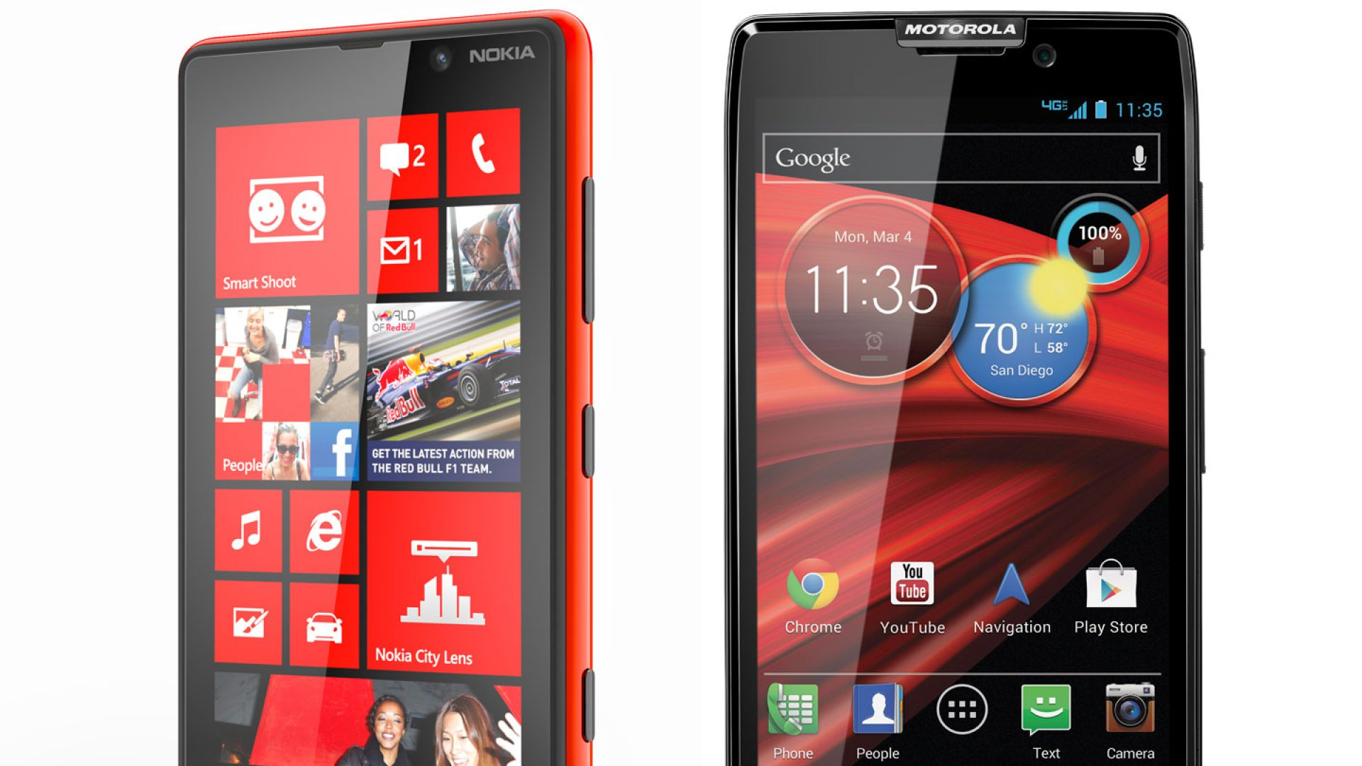 On Wednesday, Nokia and Microsoft unveiled new Windows 8 devices and Motorola and Google introduced three new 4G LTE smartphones.