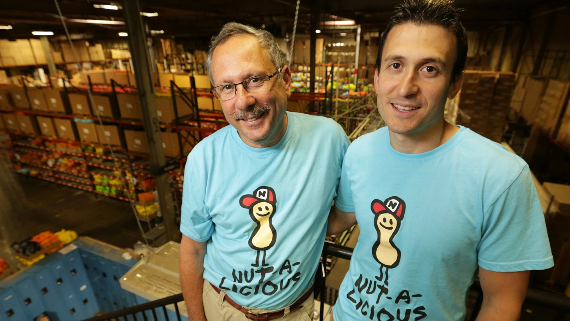 Father and son duo Kenny (left) and Jeffrey Braverman of Nuts.com.